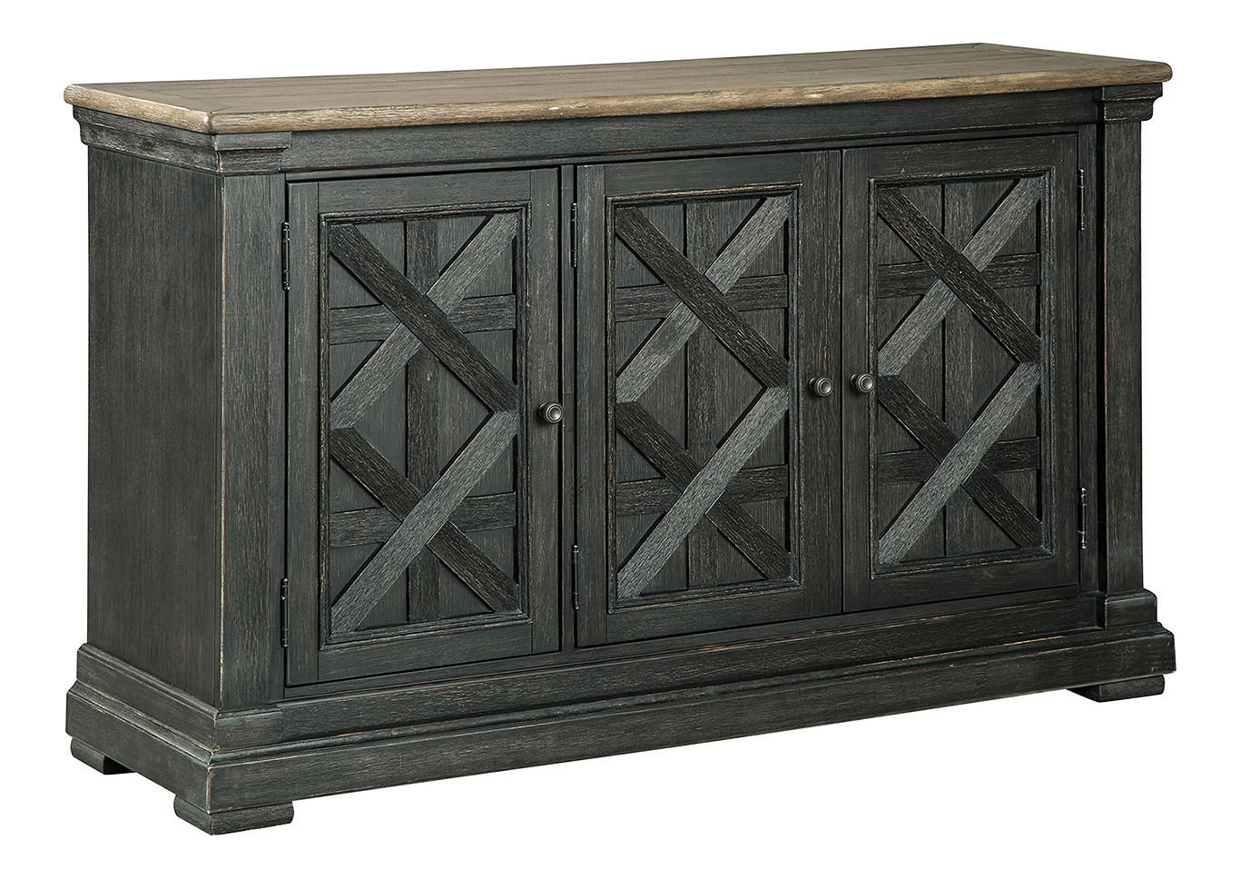 Tyler Creek Black/Grayish Brown Dining Room Server,Signature Design By Ashley