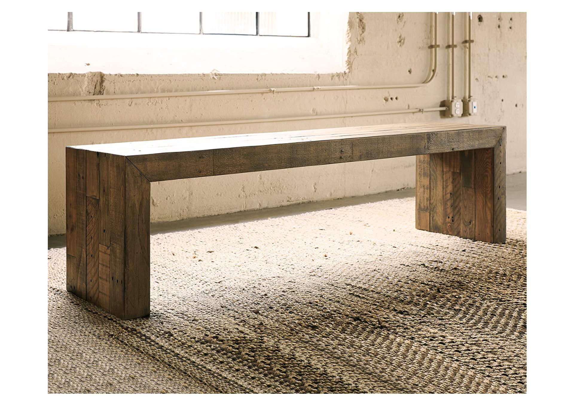Sommerford Large Dining Room Bench,Signature Design By Ashley