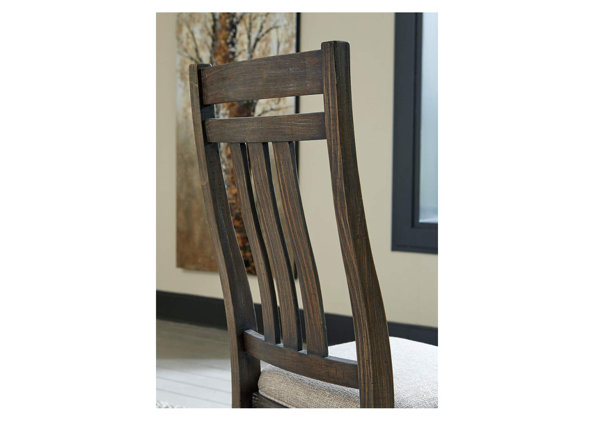 Wyndahl Brown Dining Chair (Set of 2),Signature Design By Ashley