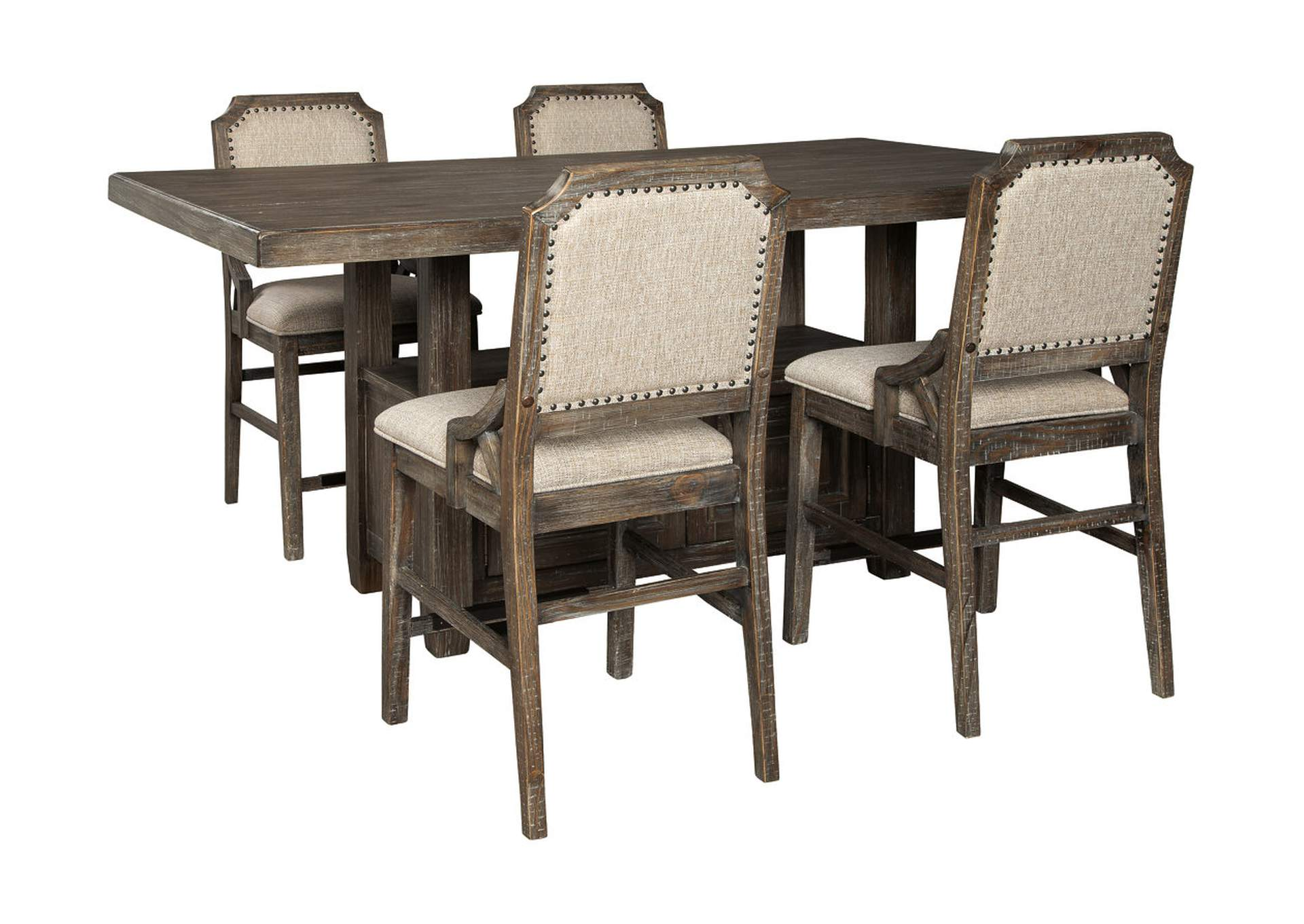 Wyndahl Brown Counter Dining Table,Signature Design By Ashley