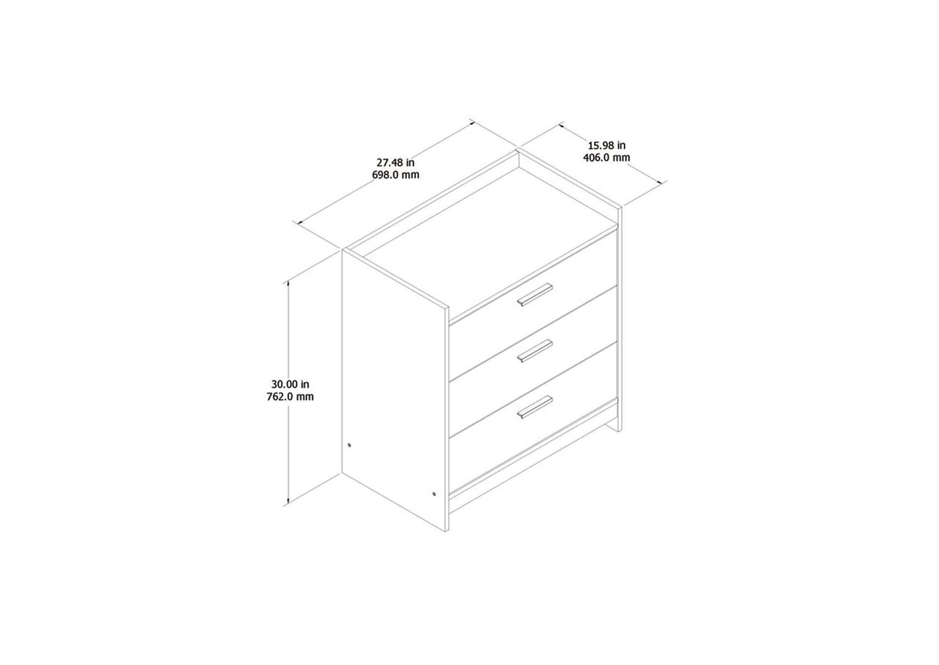Central Park Chest of Drawers,Signature Design By Ashley