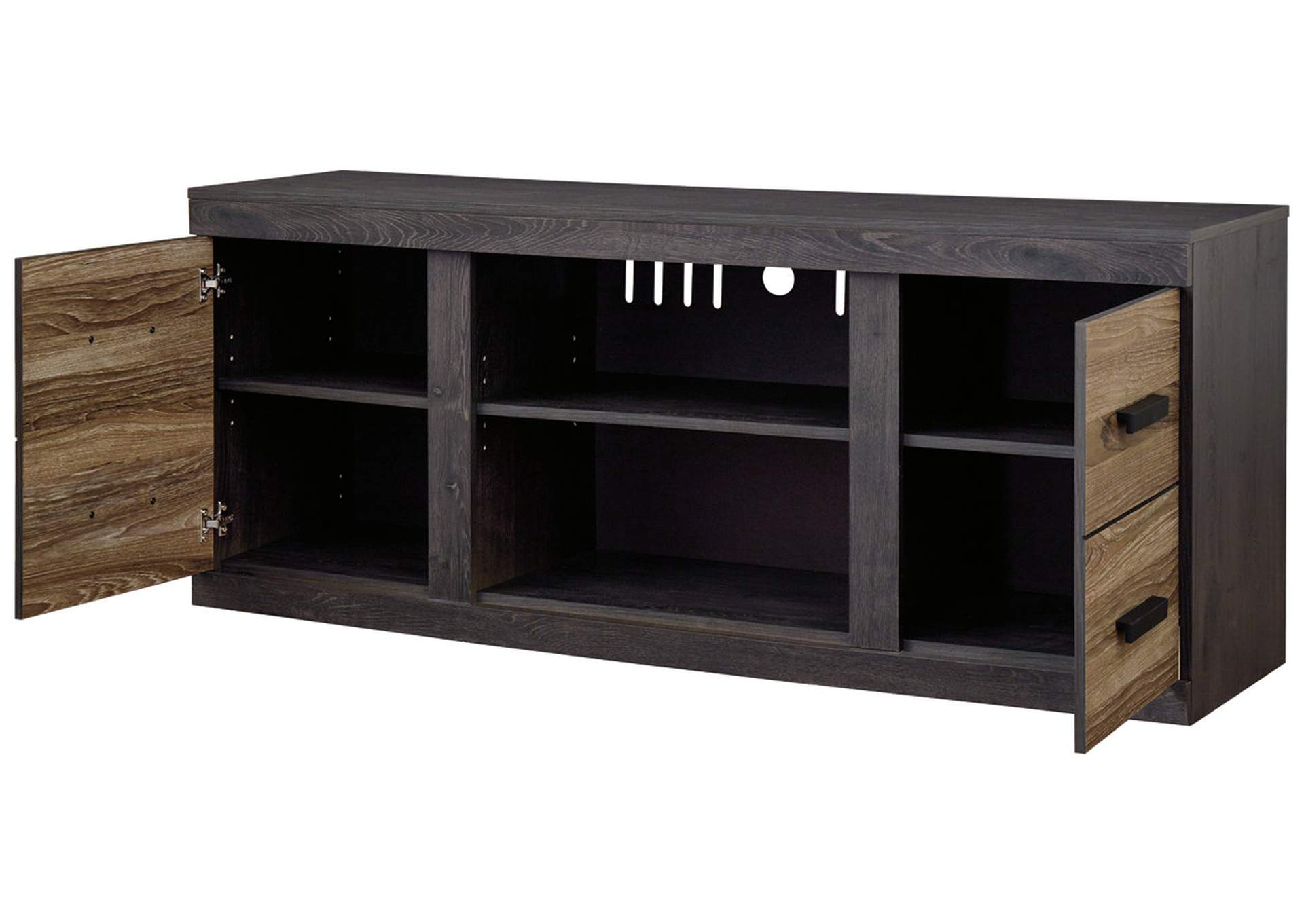 "Harlinton Warm Gray 63"" TV Stand,Signature Design By Ashley"