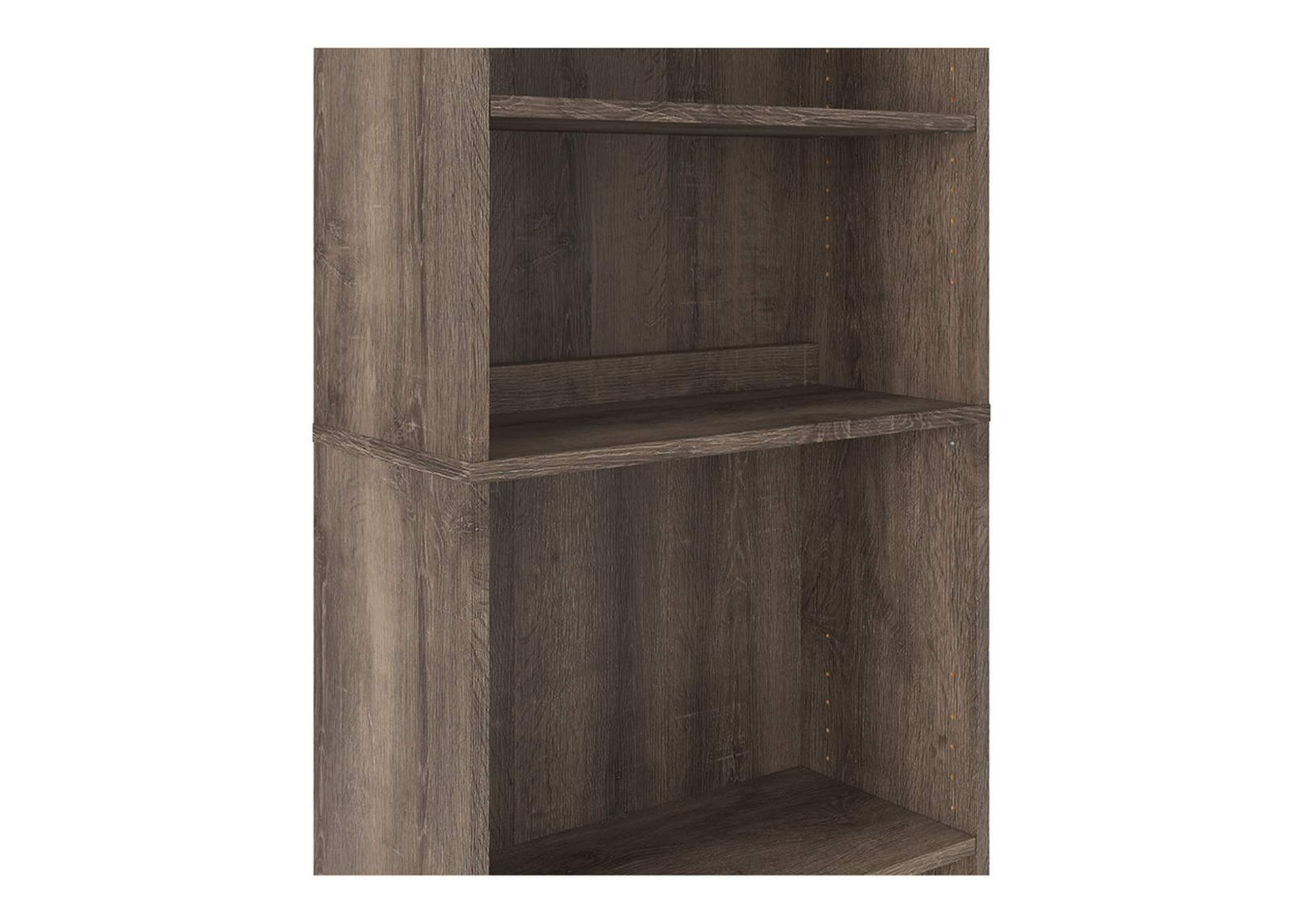 "Arlenbry Gray 71"" Bookcase,Signature Design By Ashley"