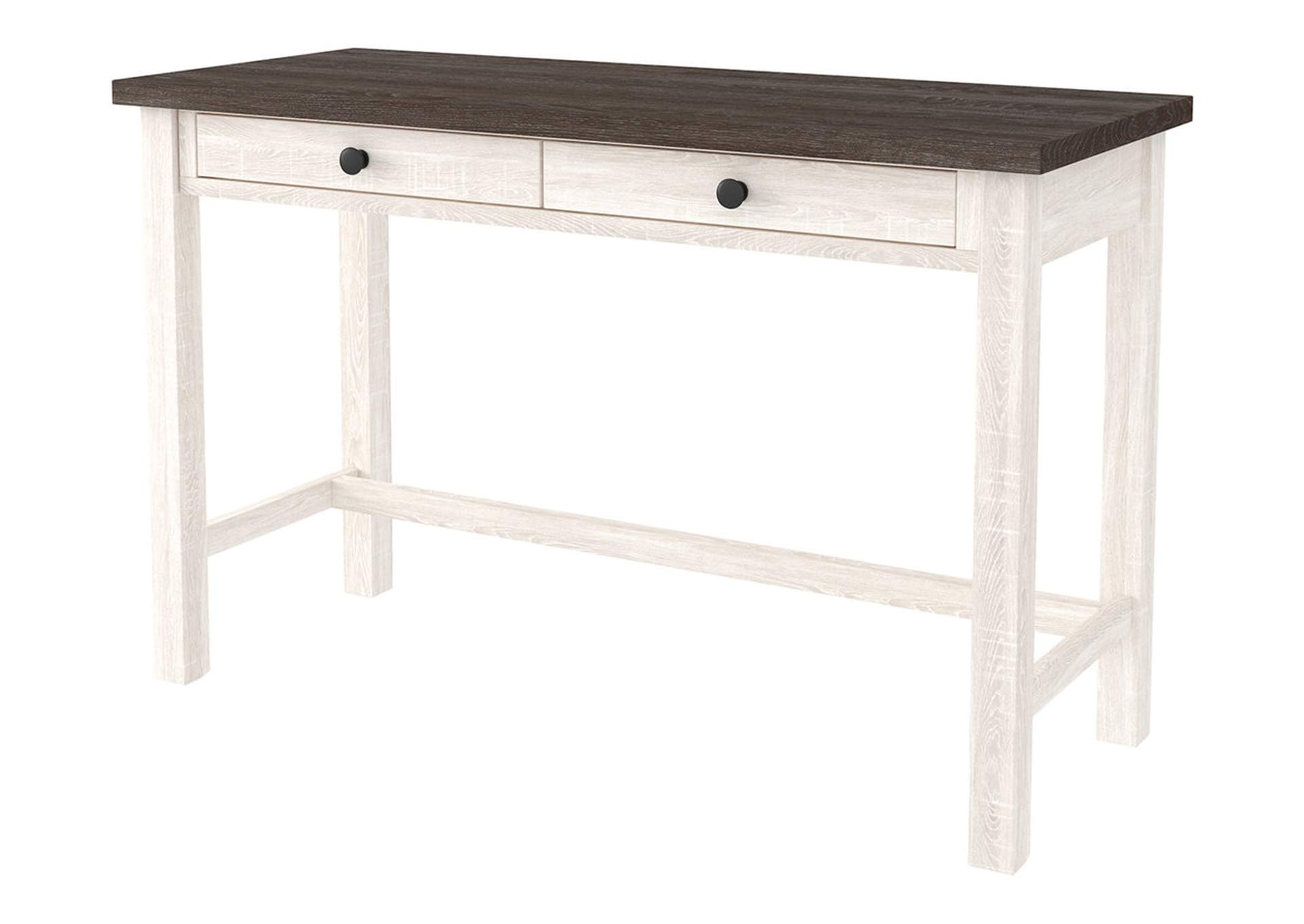 "Dorrinson Two-Tone 47"" Home Office Desk,Signature Design By Ashley"