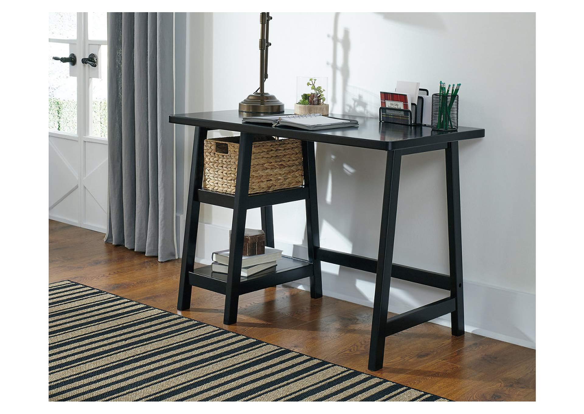 Mirimyn Black Home Office Small Desk,Signature Design By Ashley