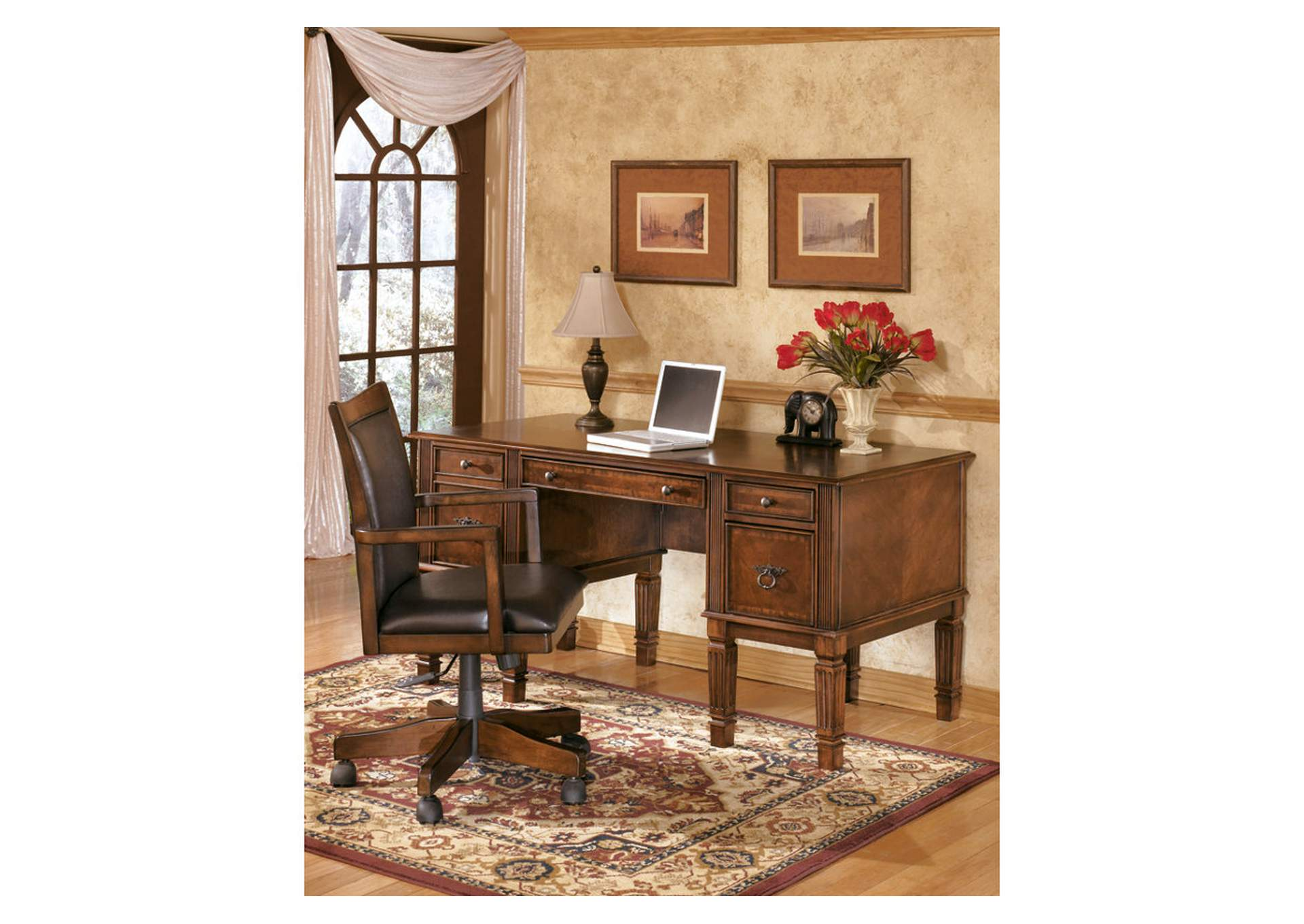 Hamlyn Storage Leg Desk,Signature Design By Ashley