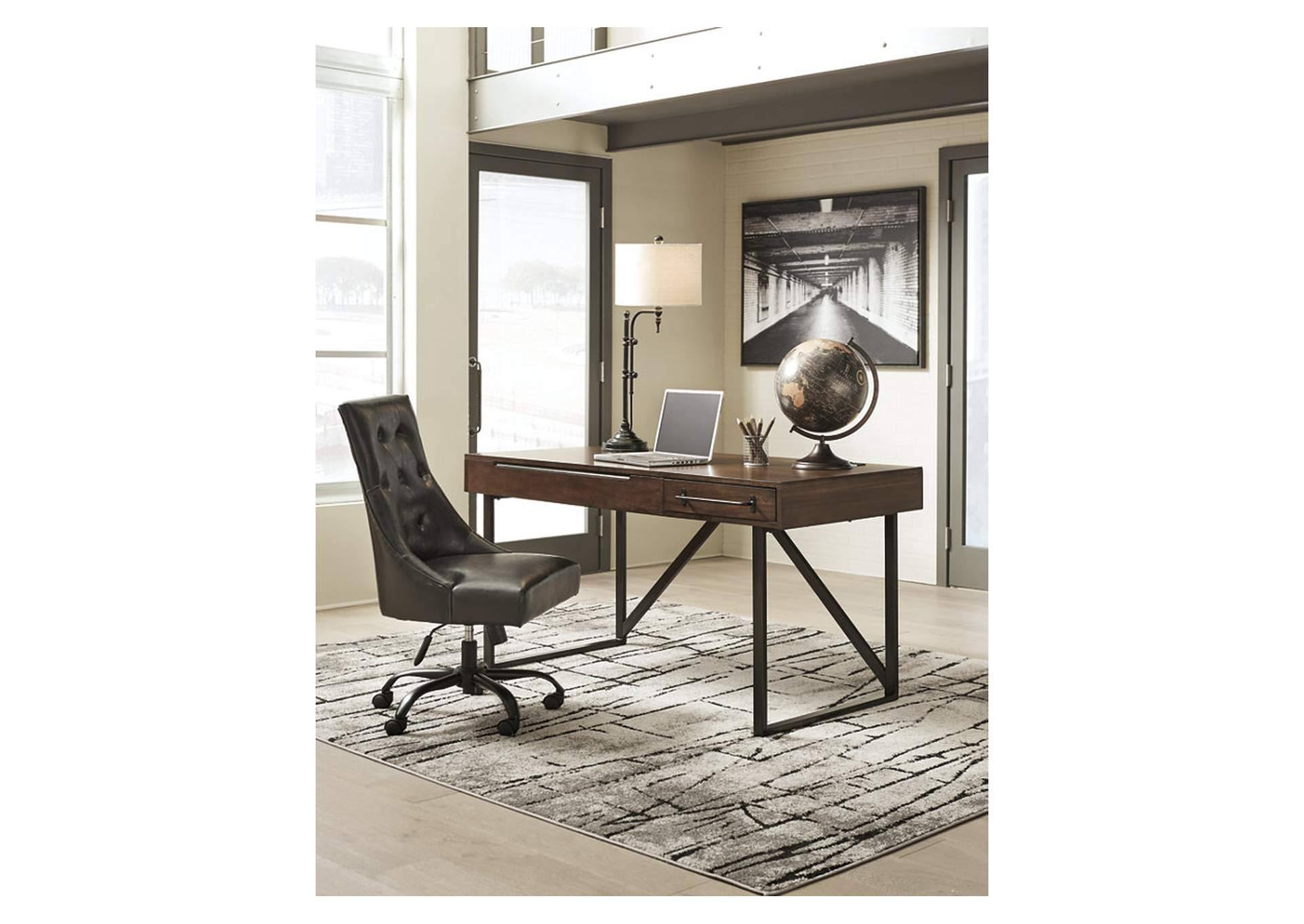 Starmore Brown Home Office Desk,Signature Design By Ashley