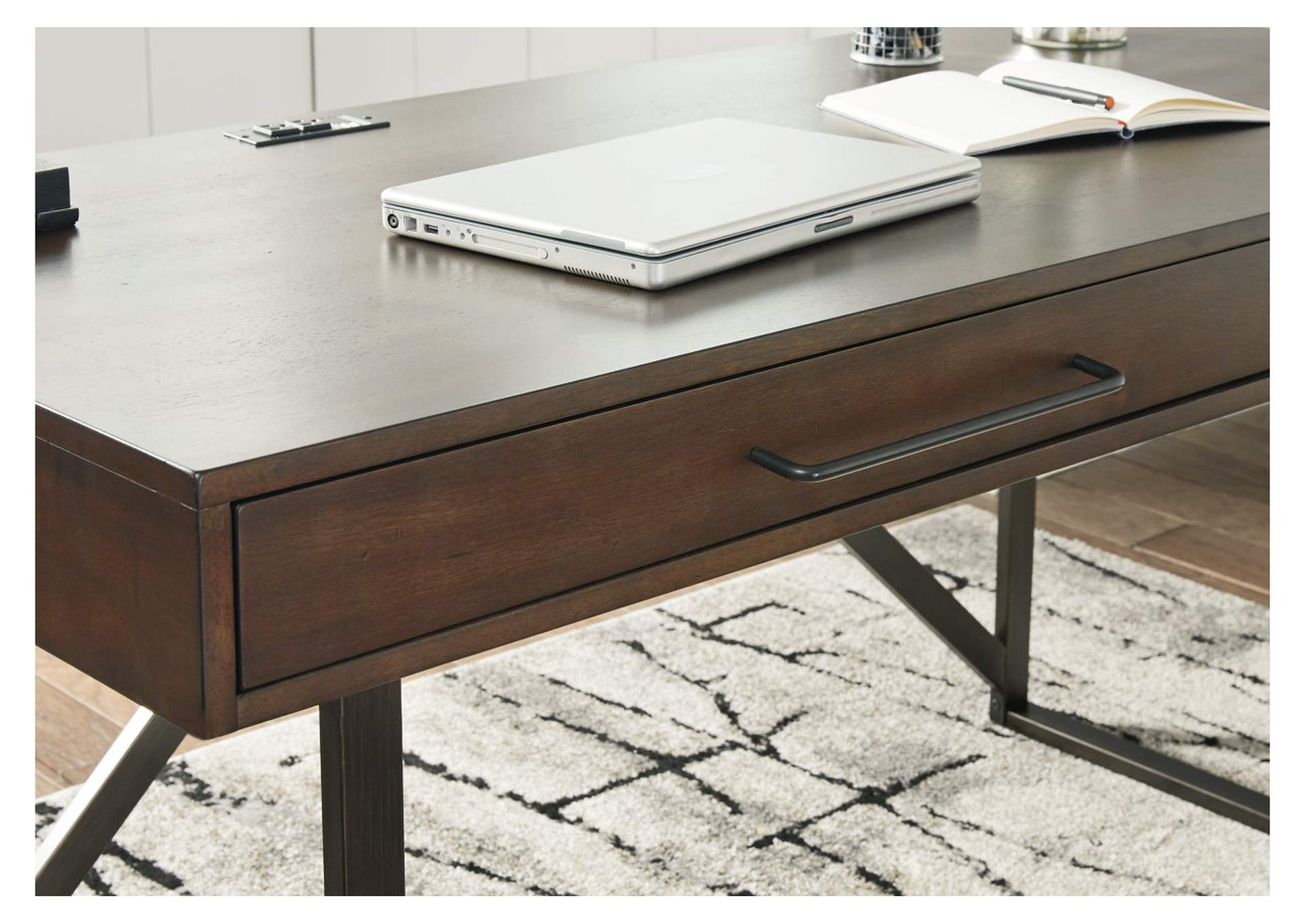 Starmore Brown Small Home Office Desk w/Return,Signature Design By Ashley