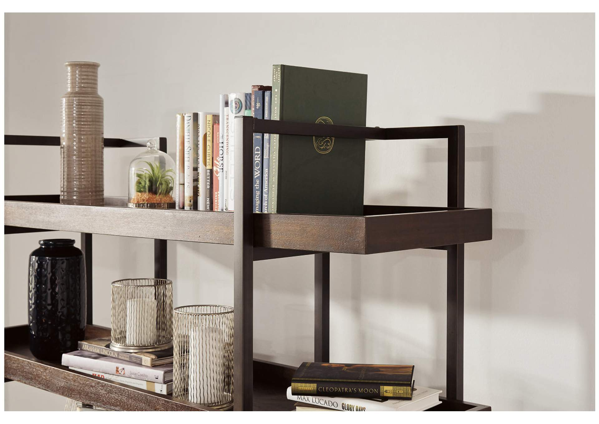 Starmore Brown Bookcase,Signature Design By Ashley