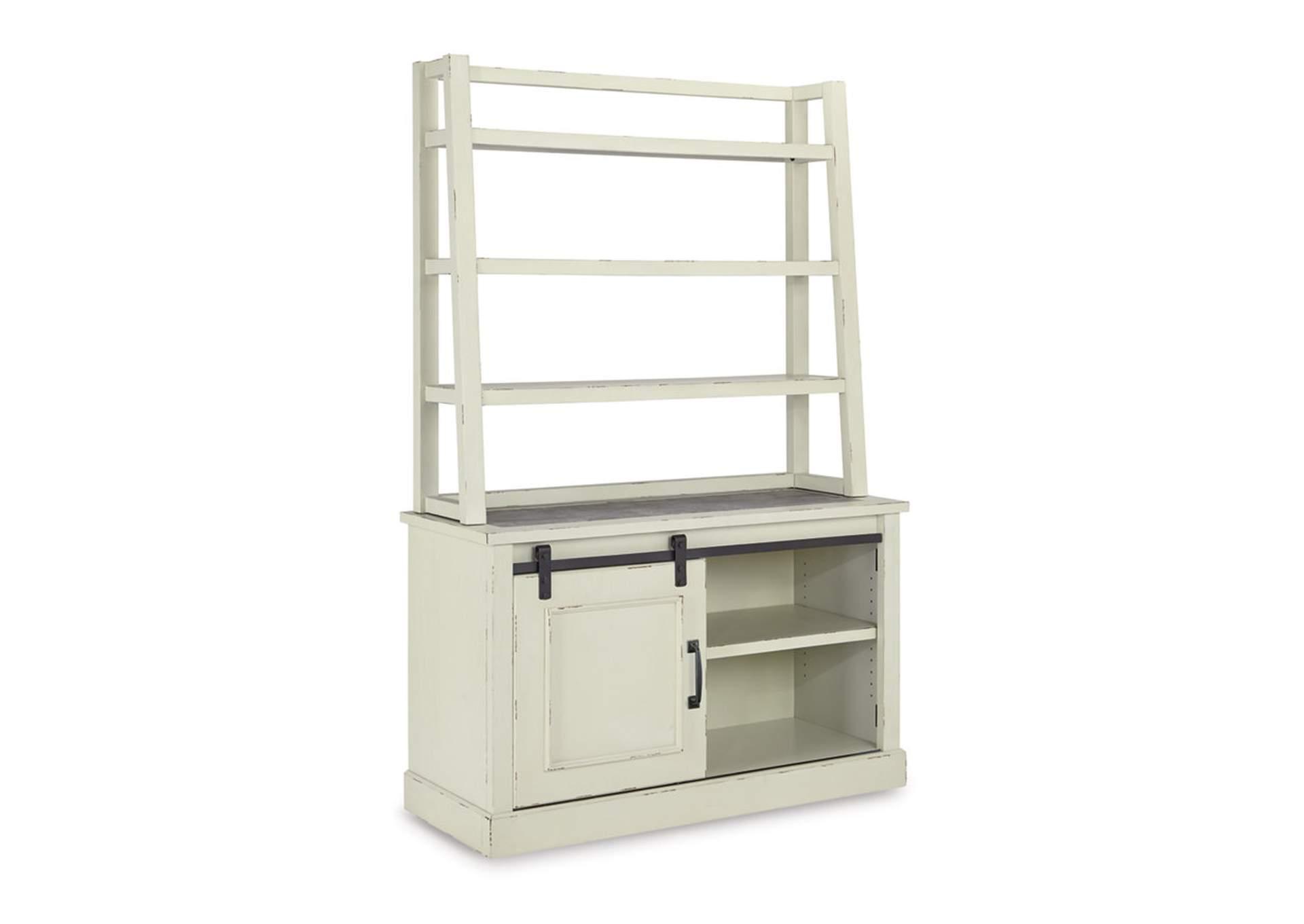 Roberts Furniture & Mattress Jonileene White/Gray Home Office ...