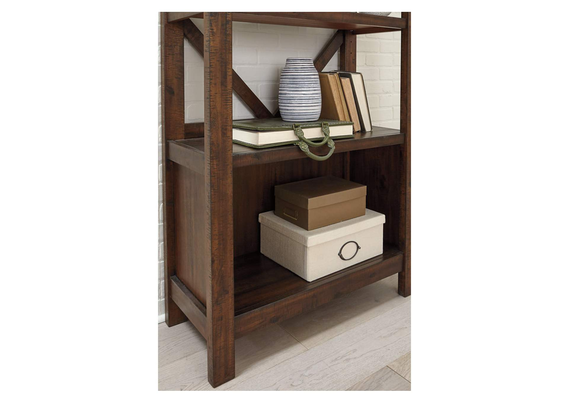 "Baldridge Rustic Brown 75"" Bookcase,Signature Design By Ashley"