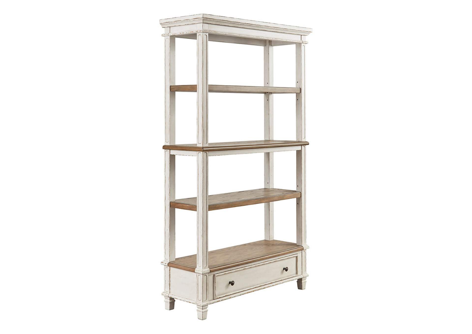 "Realyn Brown 75"" Bookcase,Signature Design By Ashley"