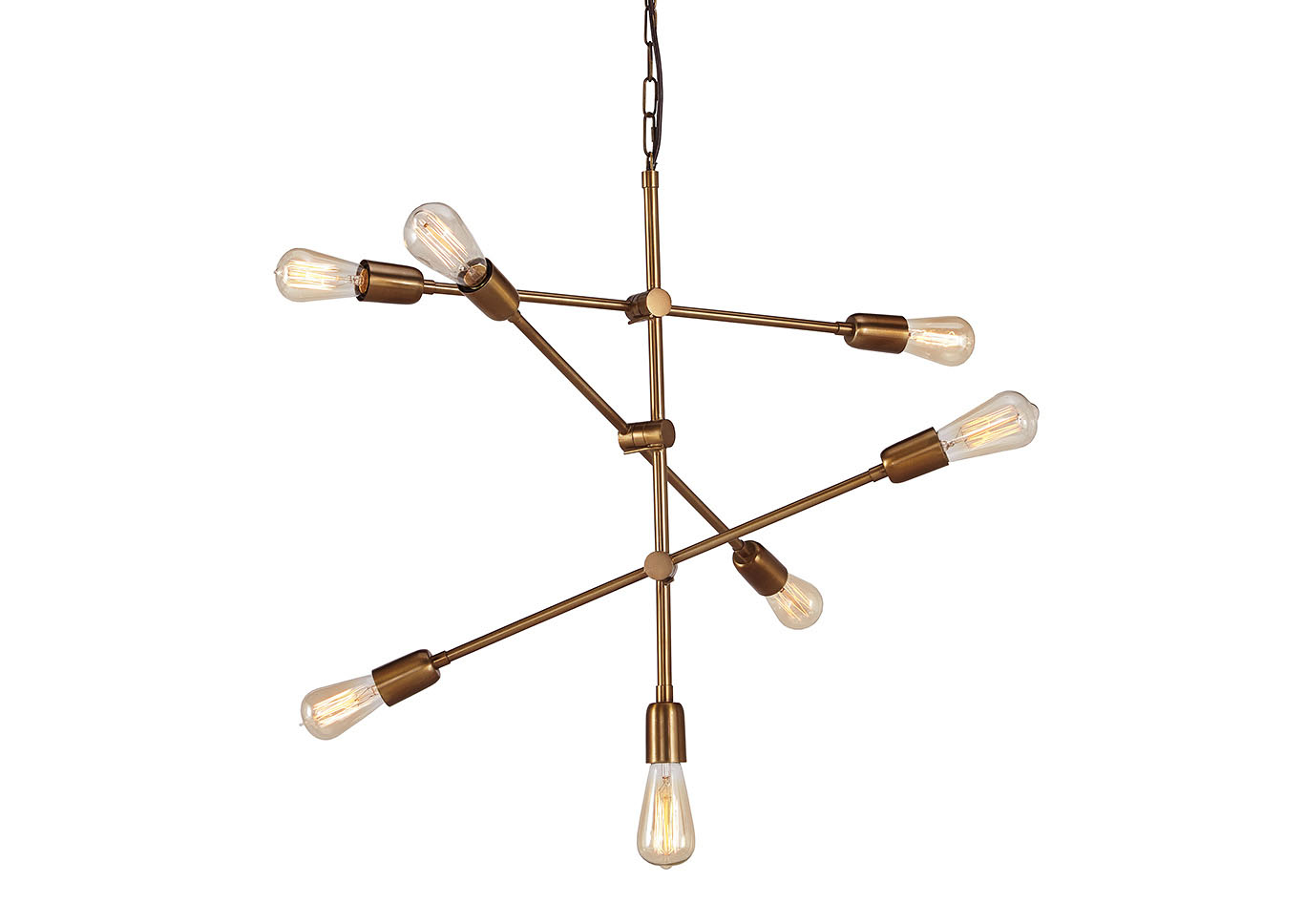 Nastalya gold finish metal pendant lightsignature design by ashley