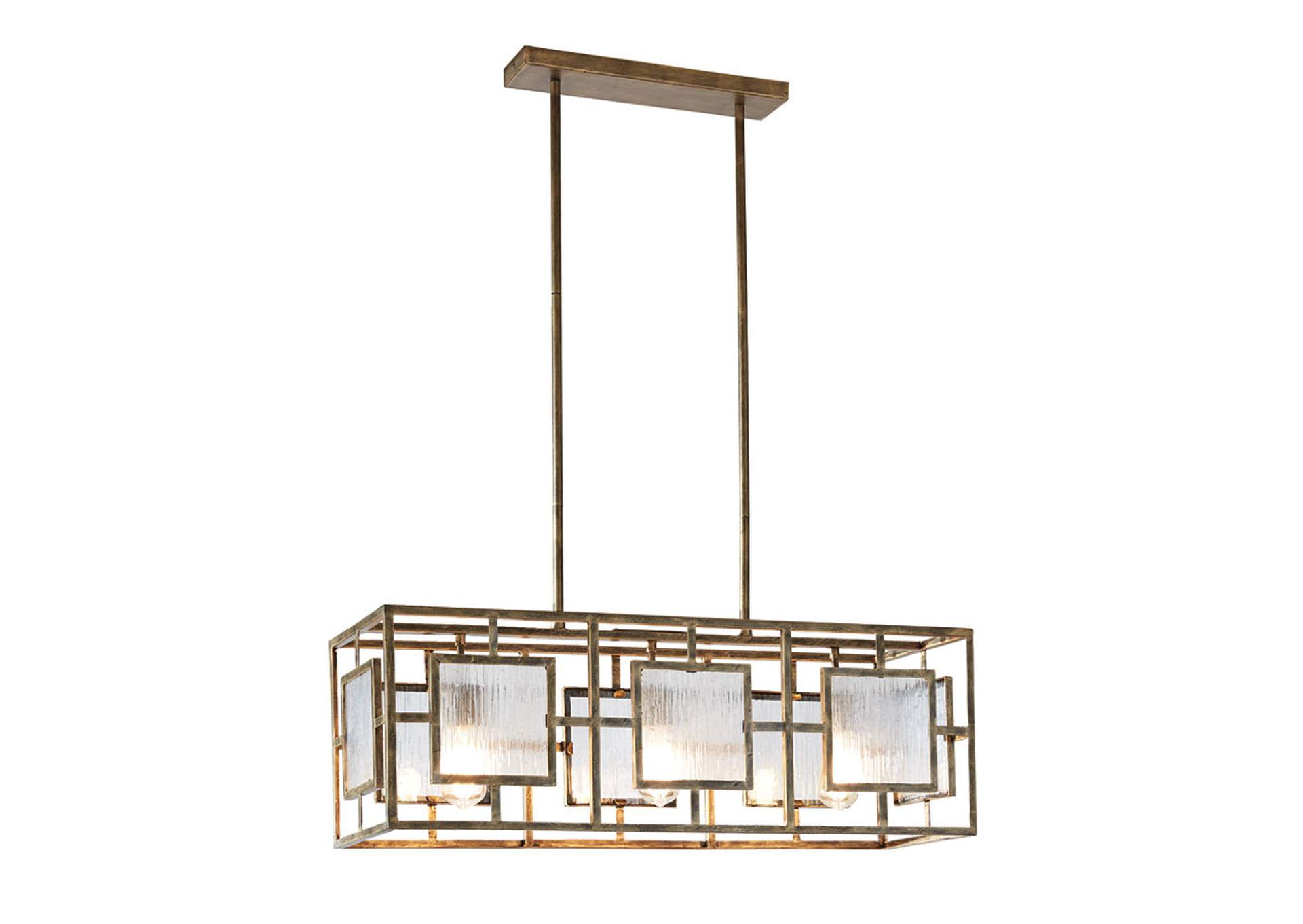 Pacey Gold Pendant Light,Signature Design By Ashley
