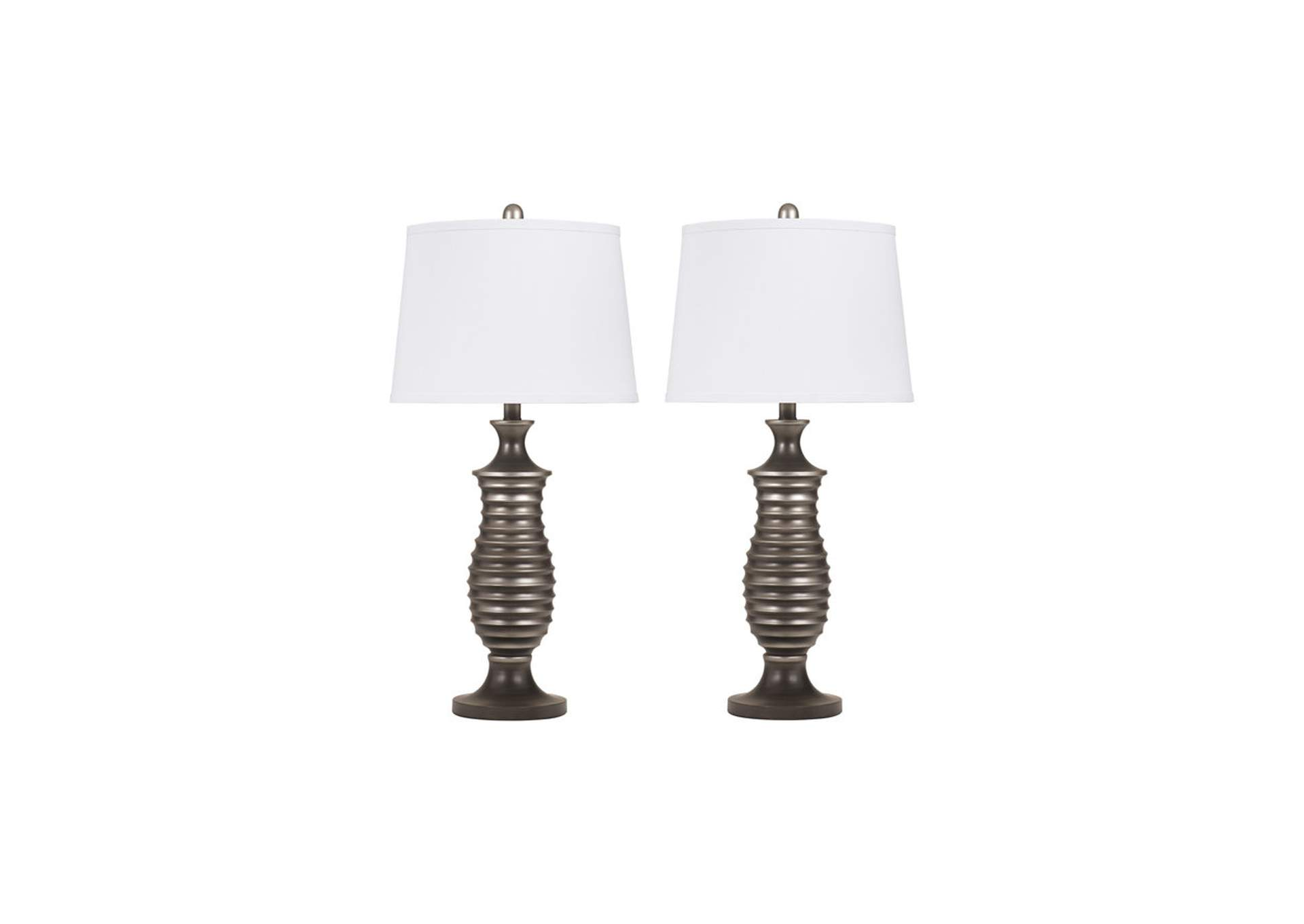 Rory Metal Table Lamp (Set of 2),Signature Design By Ashley