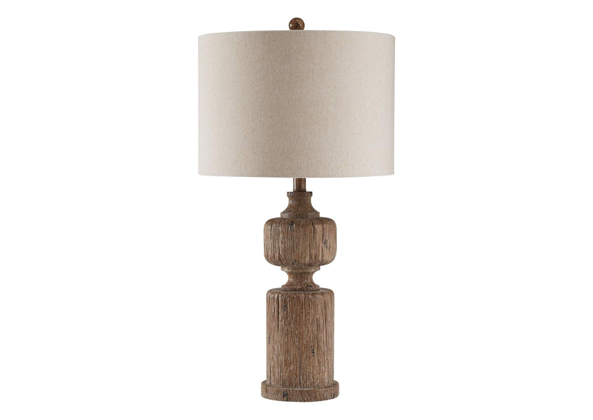 Madelief Brown Poly Table Lamp (1/CN),Signature Design By Ashley