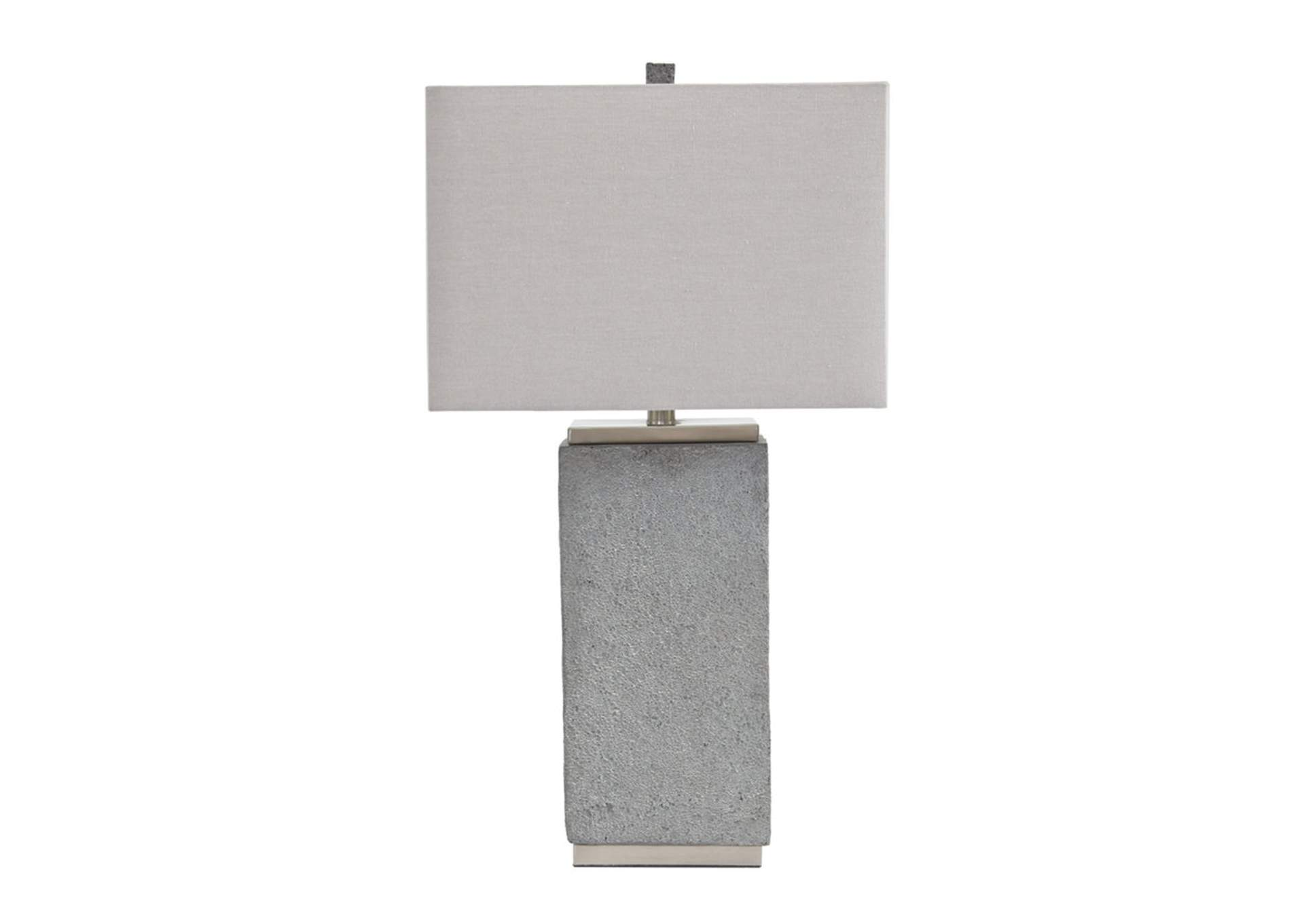 Amergin Grain Poly Table Lamp (Set of 2),Signature Design By Ashley