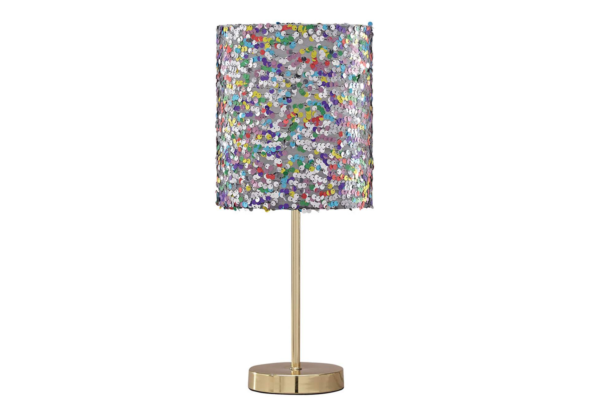 Maddy Multi Metal Table Lamp,Signature Design By Ashley