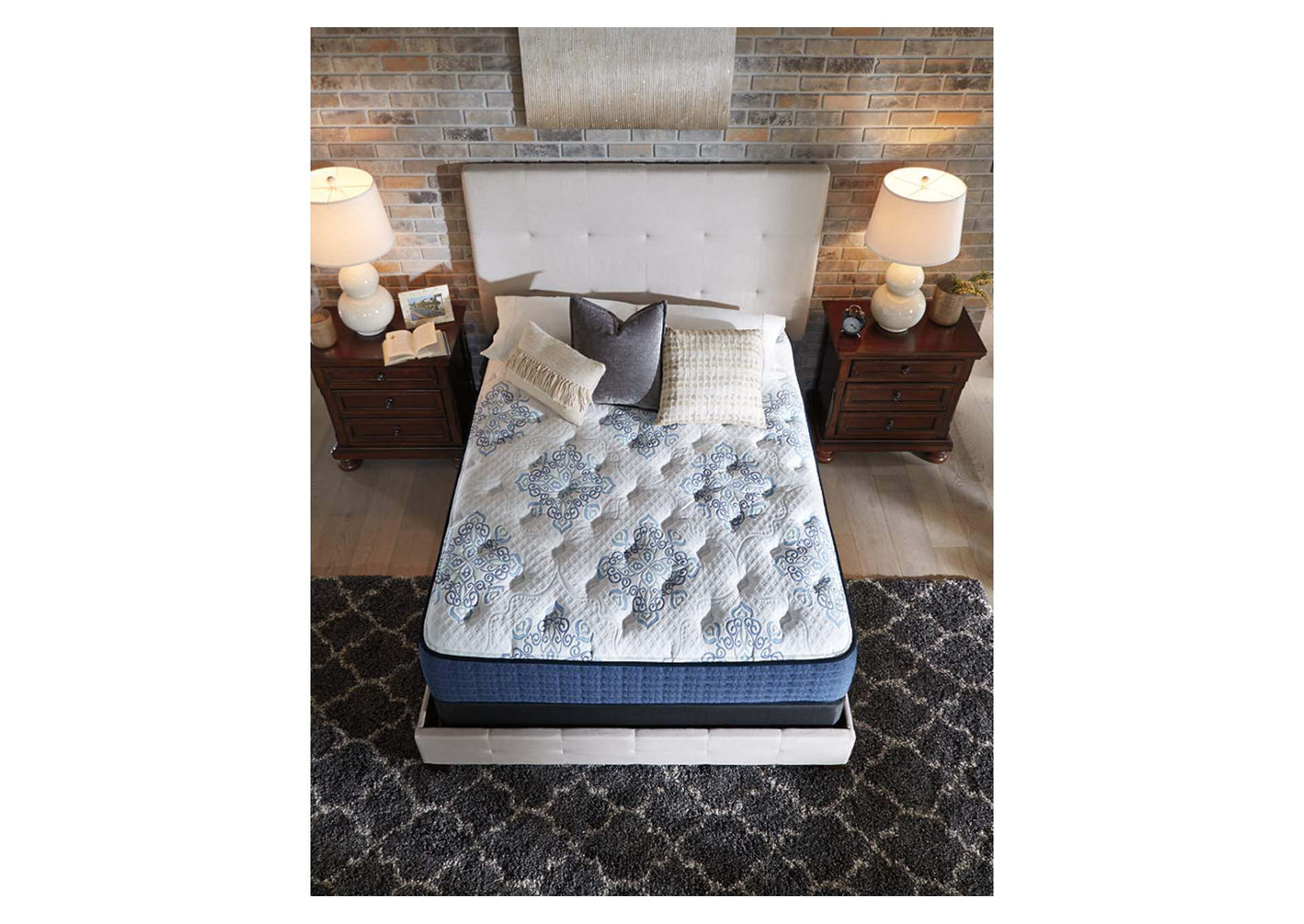 Mt. Dana Firm Twin Mattress w/Foundation,Sierra Sleep by Ashley