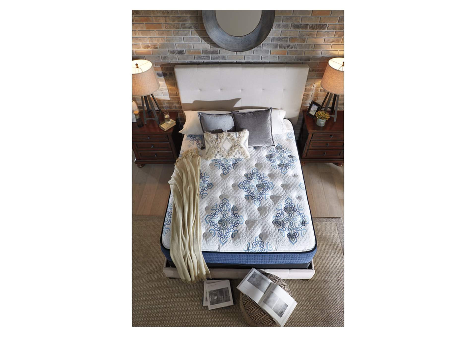 Mt Dana Plush White Queen Mattress,Sierra Sleep by Ashley