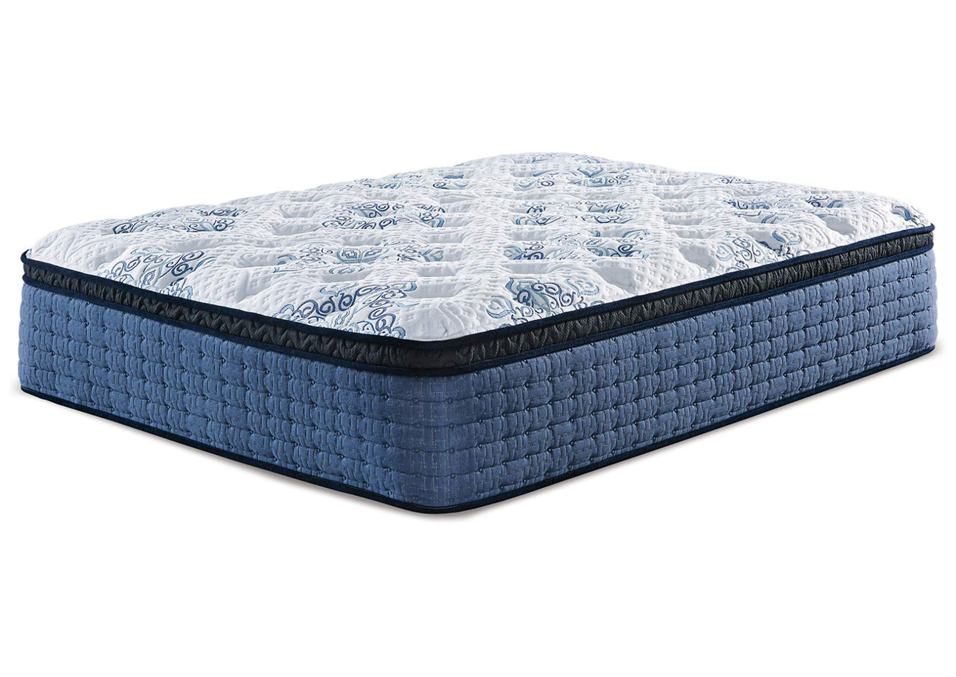 Mt Dana Euro Top White Queen Mattress,Sierra Sleep by Ashley