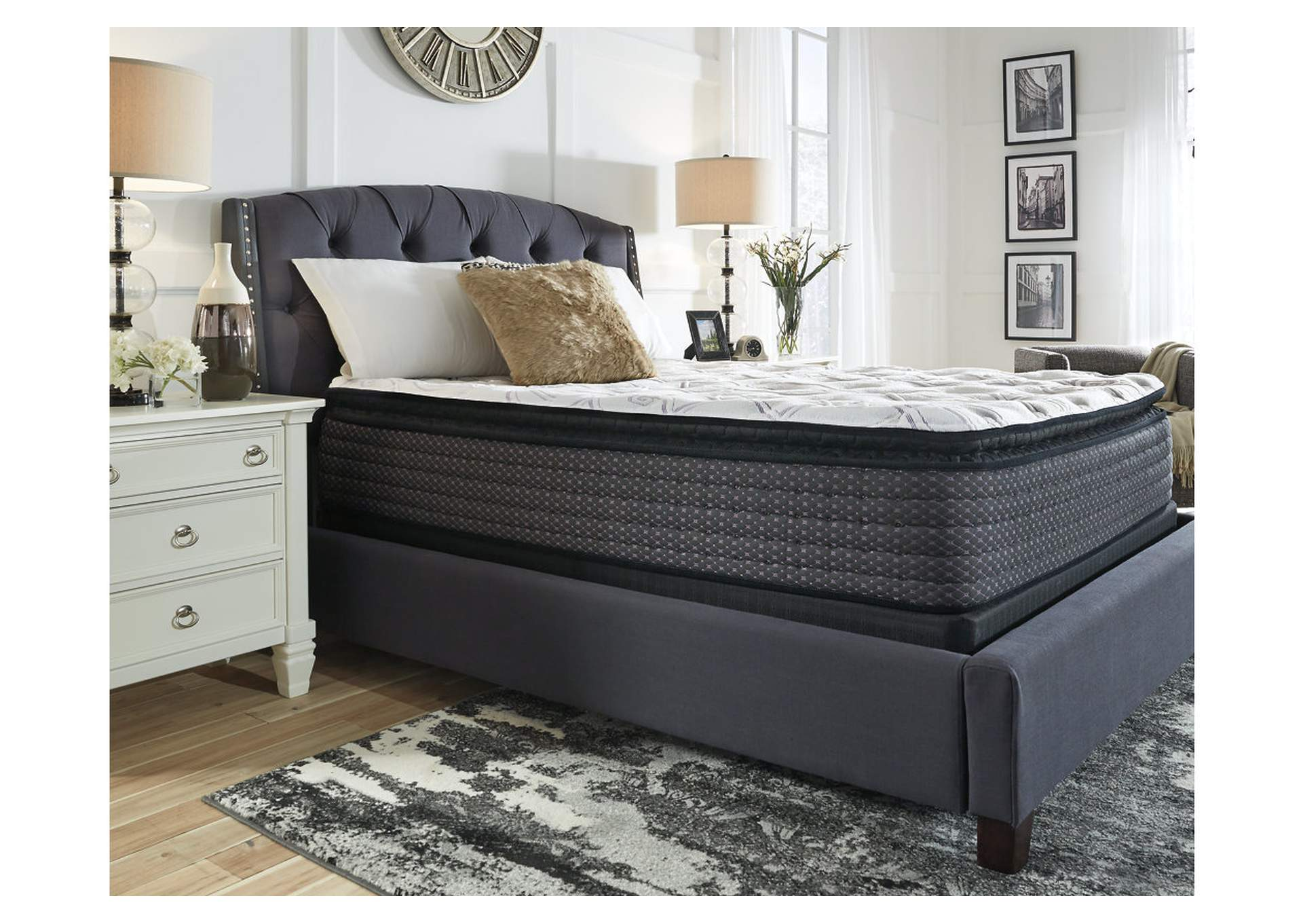 Limited Edition Pillowtop White Queen Mattress,Sierra Sleep by Ashley