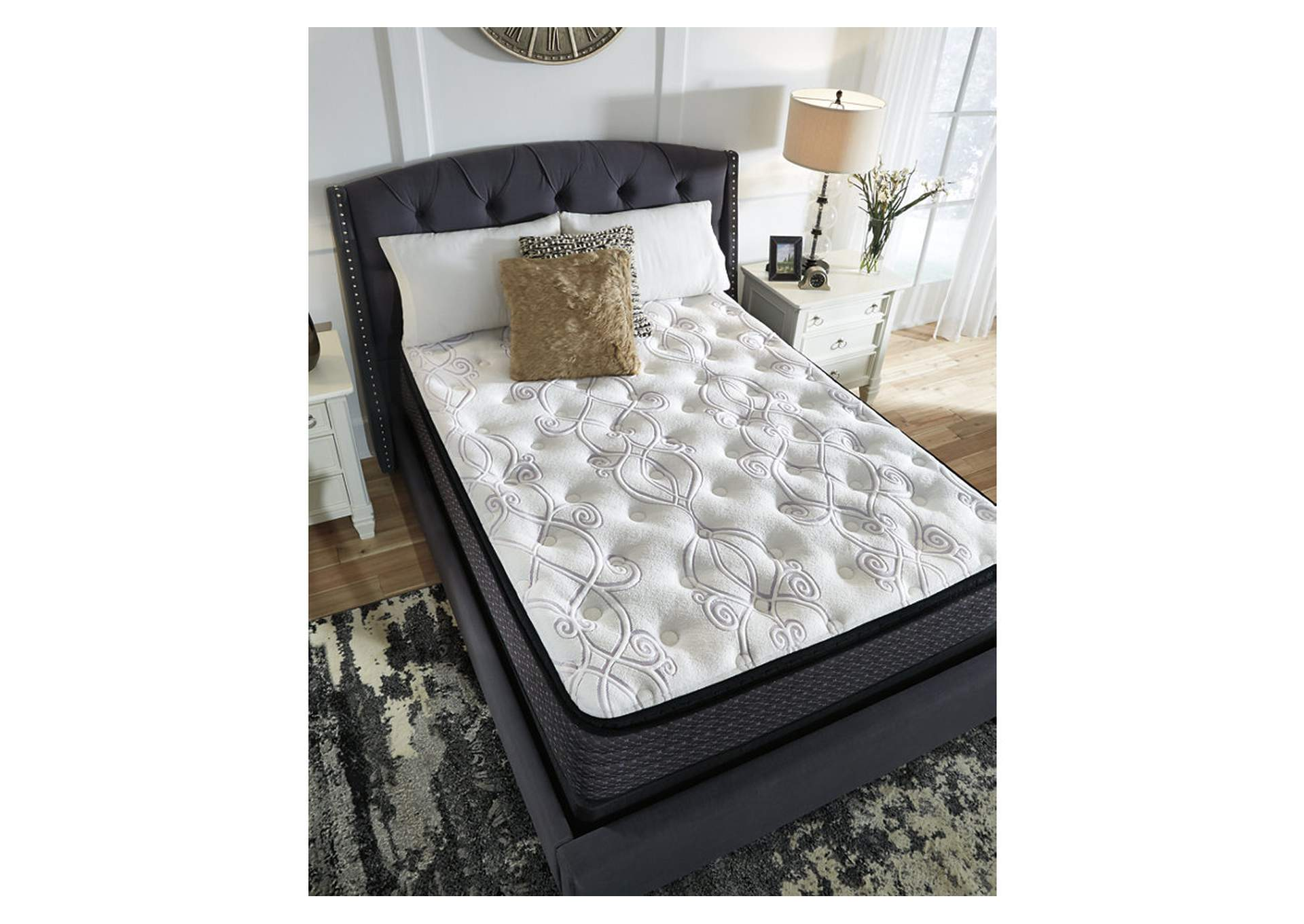 Limited Edition Pillowtop White Full Mattress,Sierra Sleep by Ashley