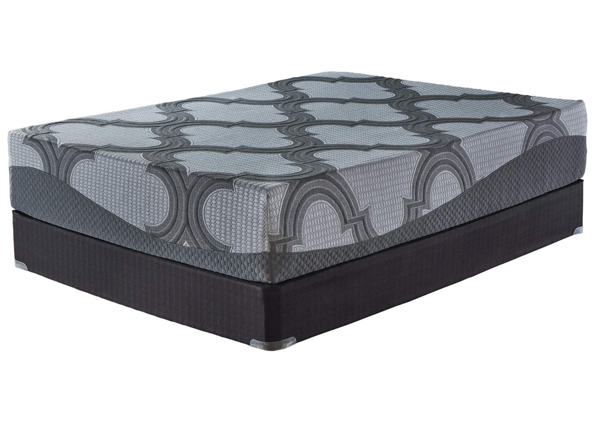 12 Inch Ashley Hybrid Gray King Mattress,Sierra Sleep by Ashley