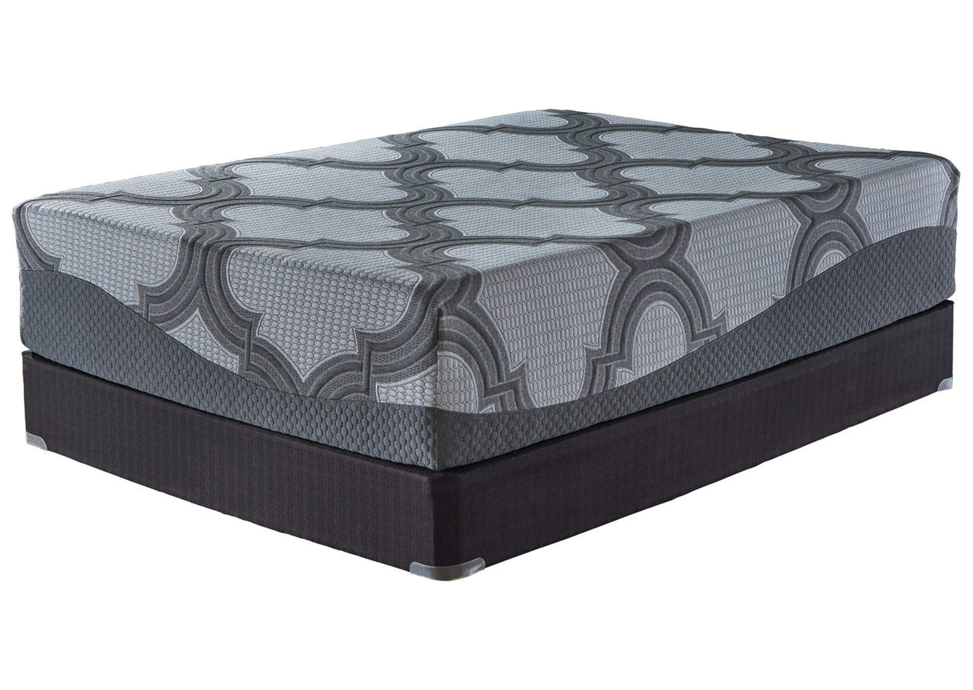 14 Inch Ashley Hybrid Gray King Mattress,Sierra Sleep by Ashley