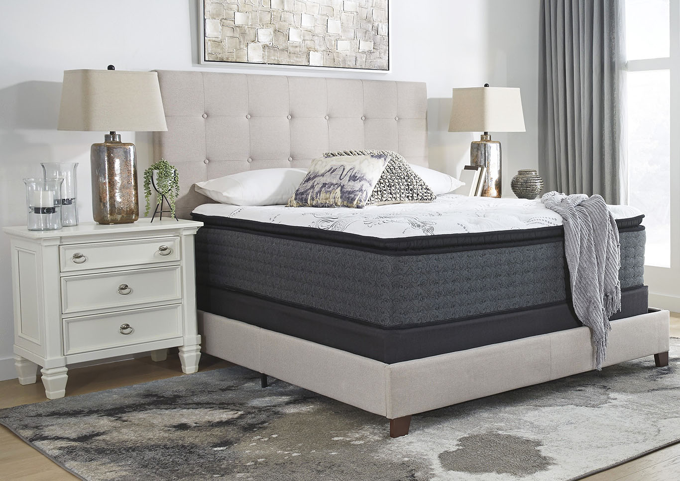Manhattan Design Firm PT California King Mattress w/Foundation,Sierra Sleep by Ashley