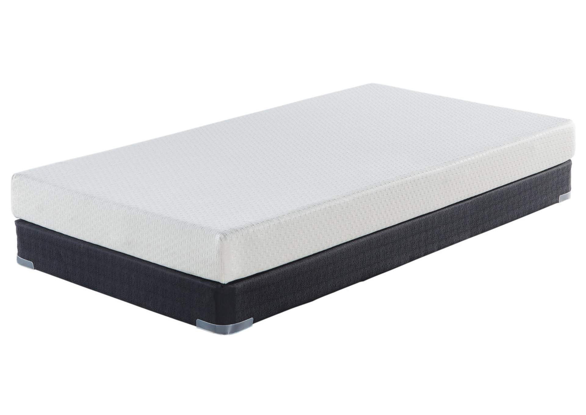 6 Inch Chime Express Twin Memory Foam Mattress,Sierra Sleep by Ashley