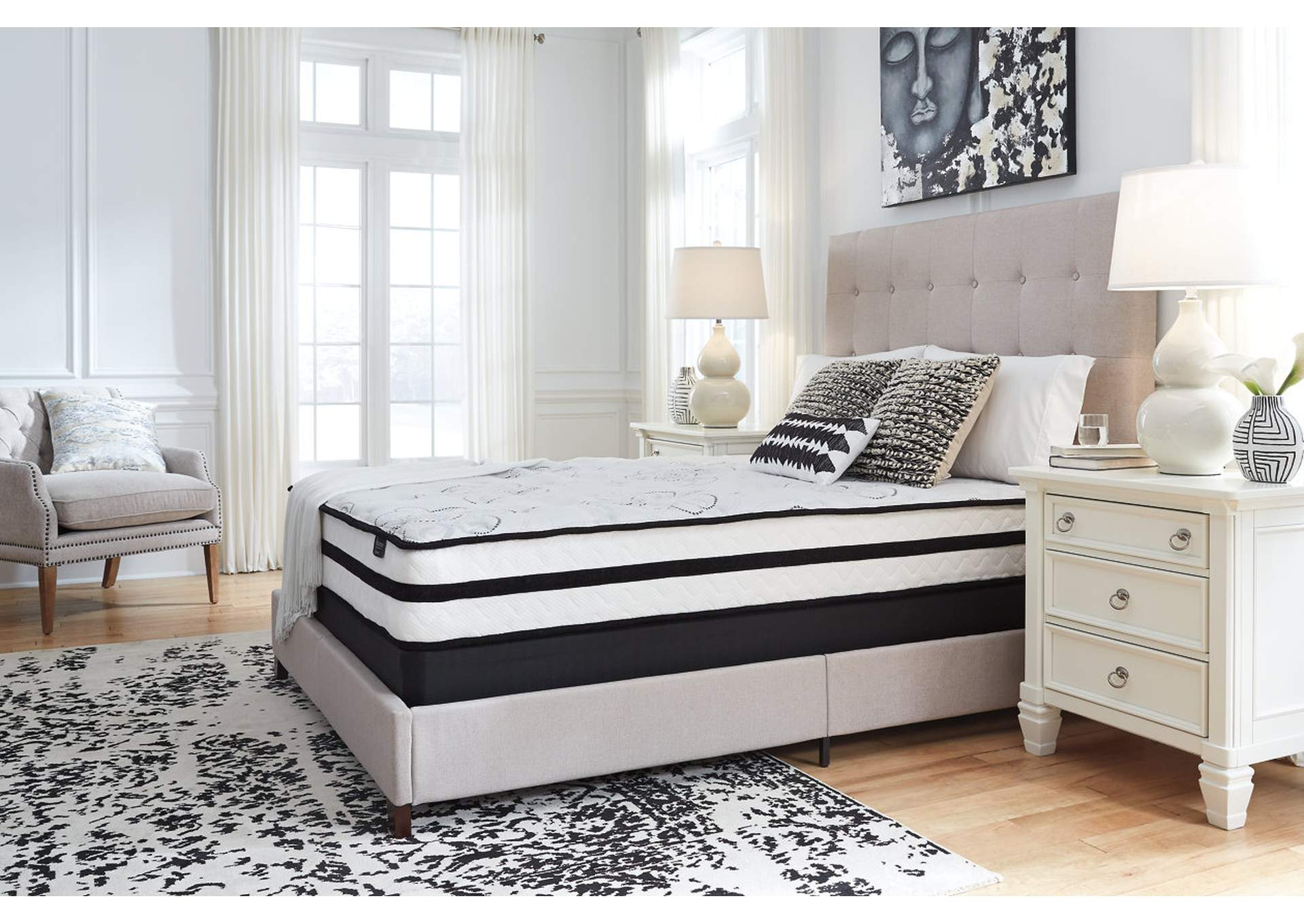 "Chime 10"" Hybrid Twin Mattress,Sierra Sleep by Ashley"