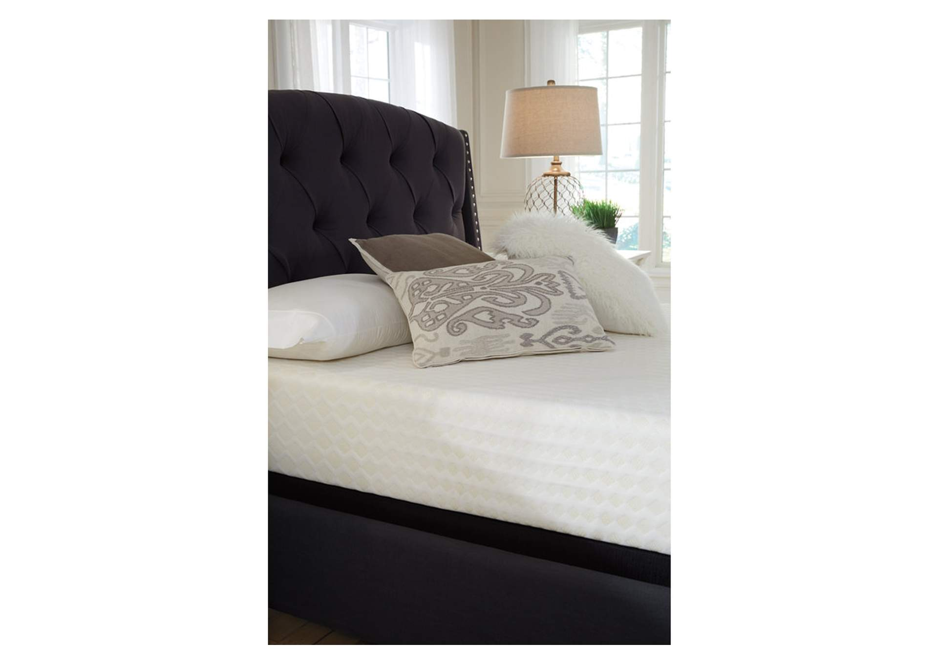 "Chime 10"" Memory Foam King Mattress,Sierra Sleep by Ashley"
