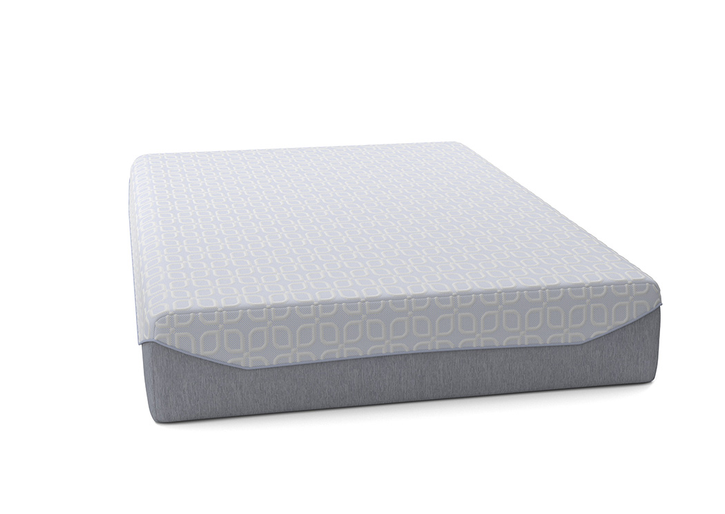 Loft and Madison 13 Firm White Queen Mattress,Sierra Sleep by Ashley
