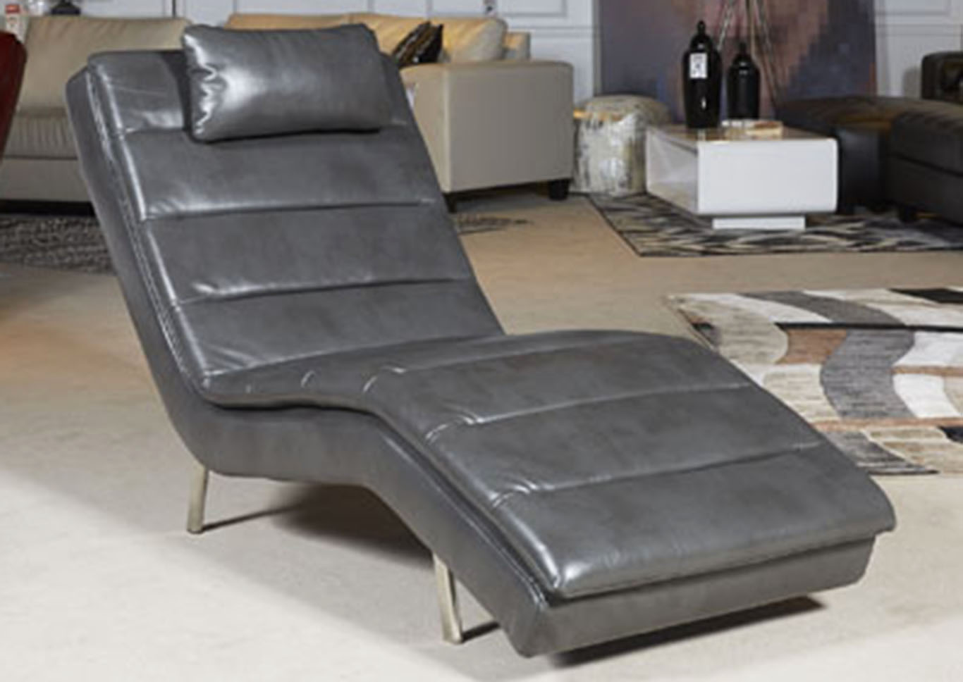 Goslar Gray Chaise,Signature Design By Ashley