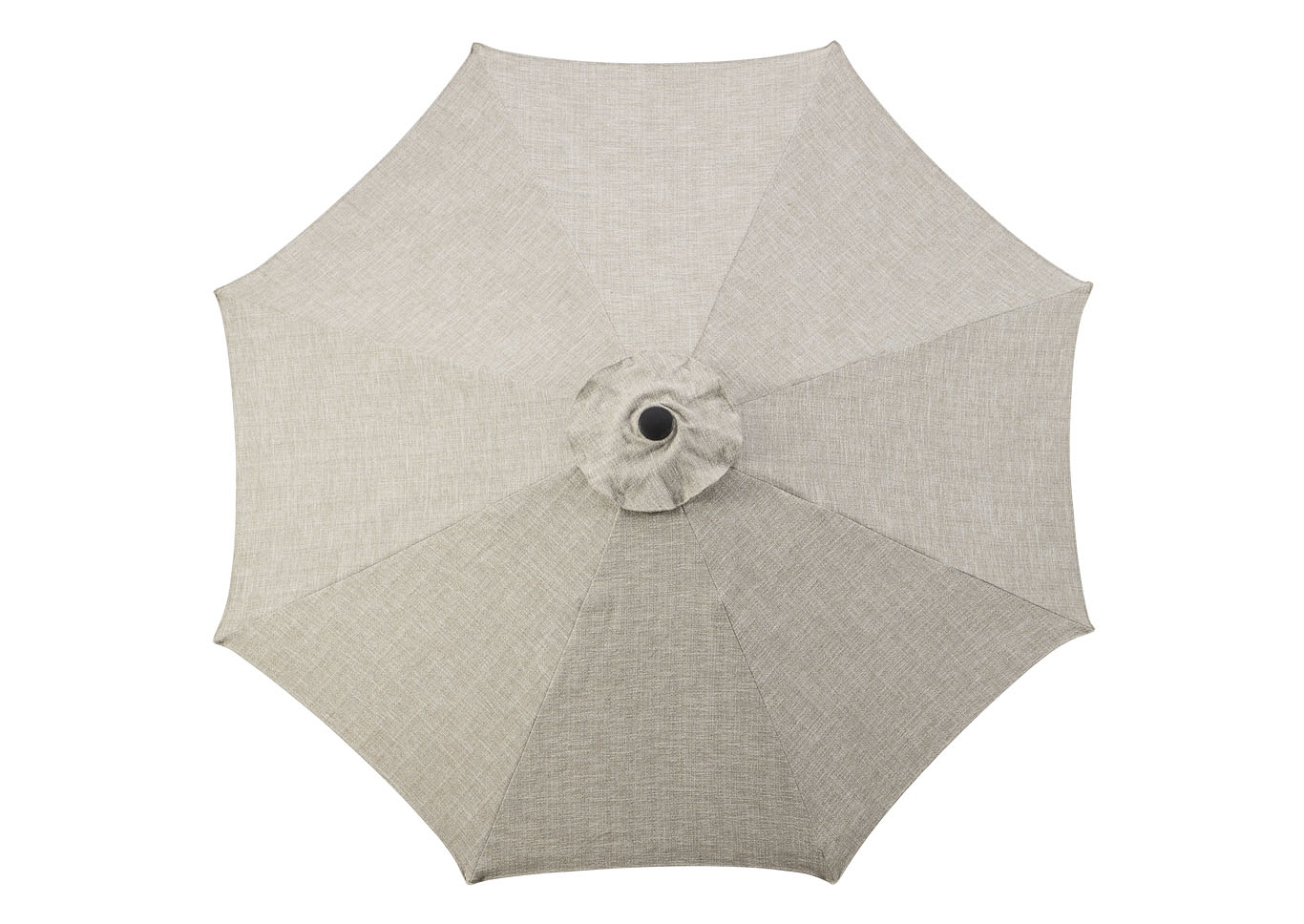Beige Medium Auto Tilt Umbrella and Base,Outdoor By Ashley