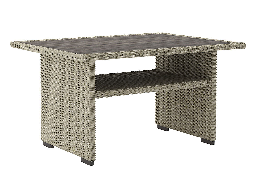 Silent Brook Beige Rectangular Multi-Use Table,Outdoor By Ashley