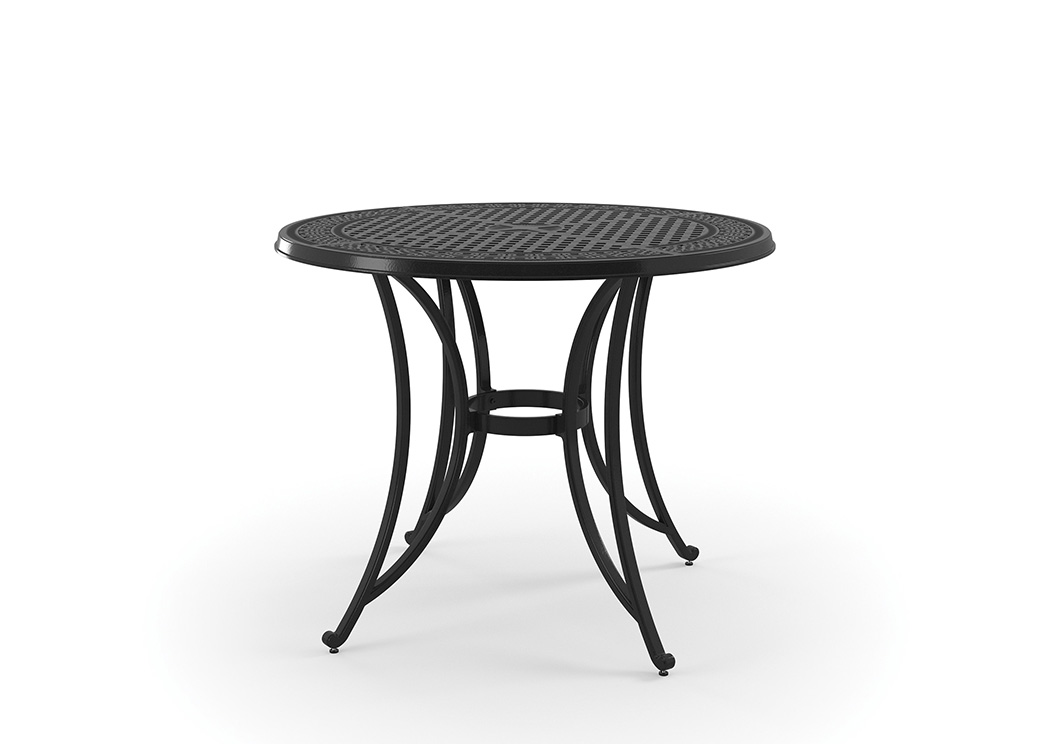 Burnella Brown Round Bar Table,Outdoor By Ashley