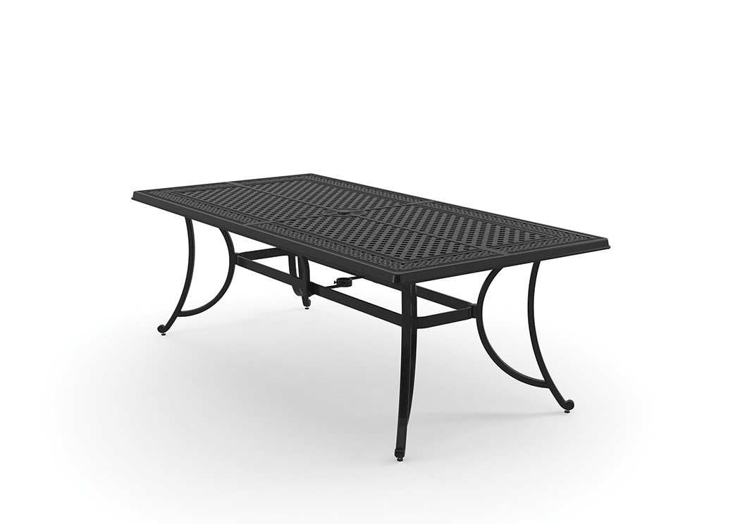 Burnella Brown Rectangular Dining Table,Outdoor By Ashley