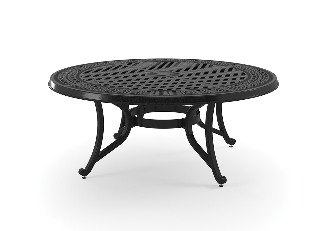 Burnella Brown Round Cocktail Table,Outdoor By Ashley