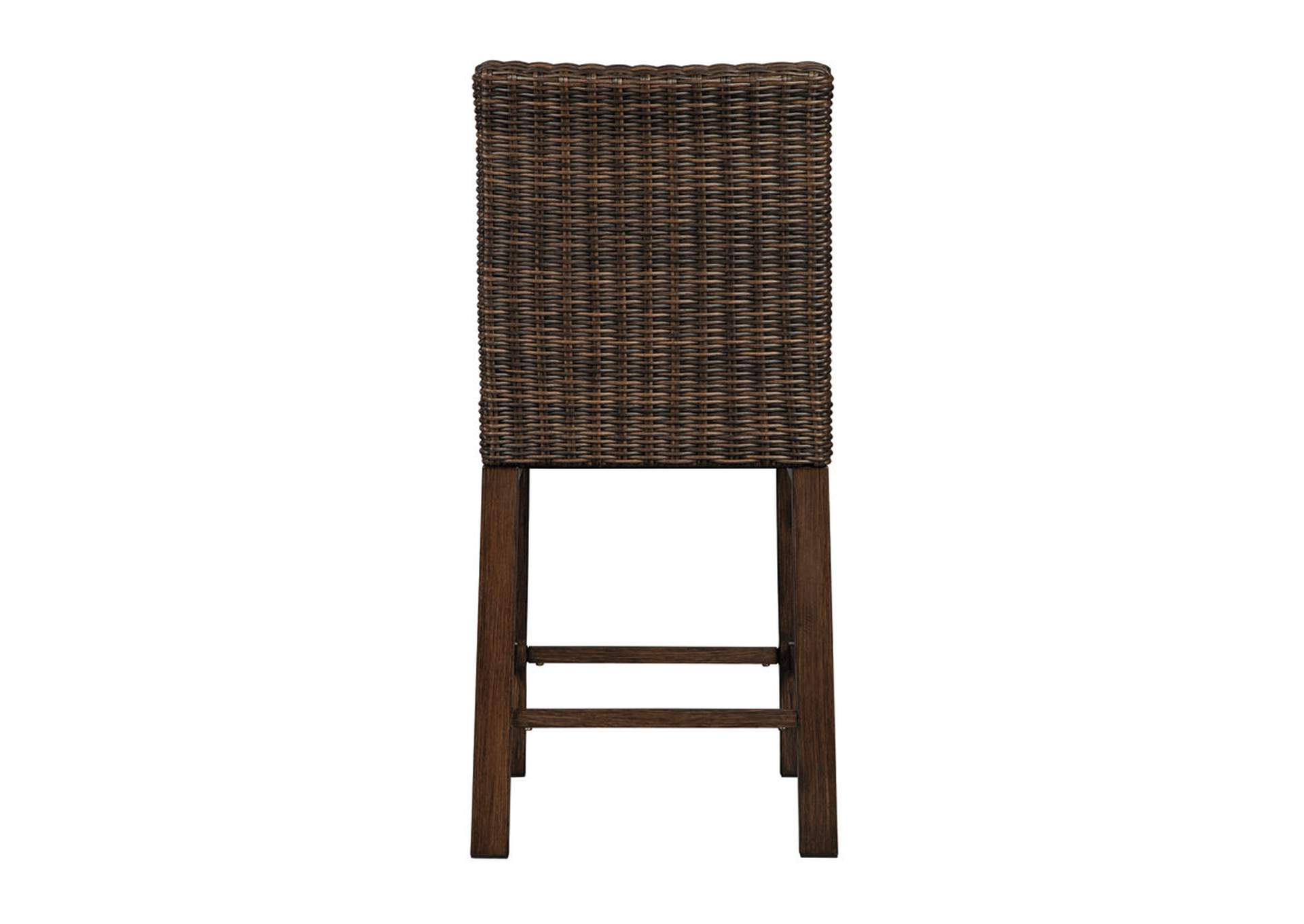 Paradise Trail Brown Bar Stool (Set of 2),Outdoor By Ashley