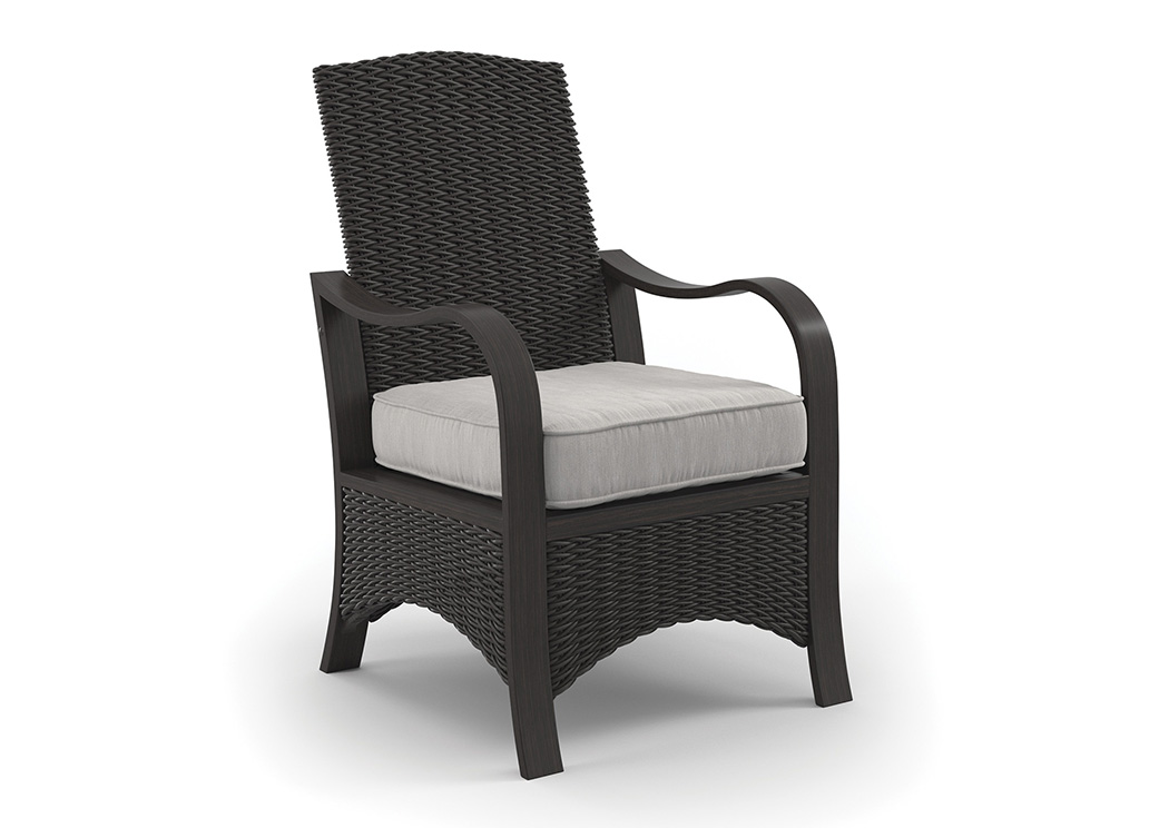 Marsh Creek Brown Chair w/Cushion (2/CN),Outdoor By Ashley