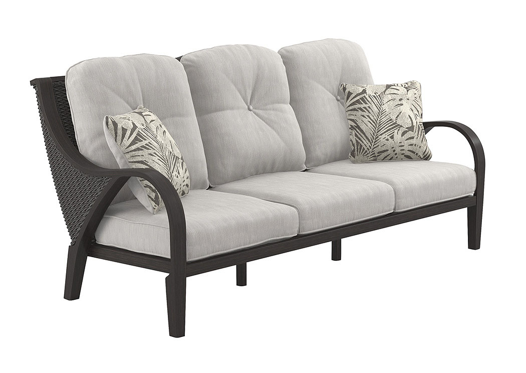 Marsh Creek Brown Sofa with Cushion,Outdoor By Ashley