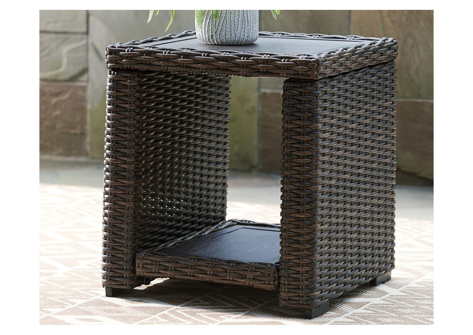 Grasson Lane End Table,Outdoor By Ashley