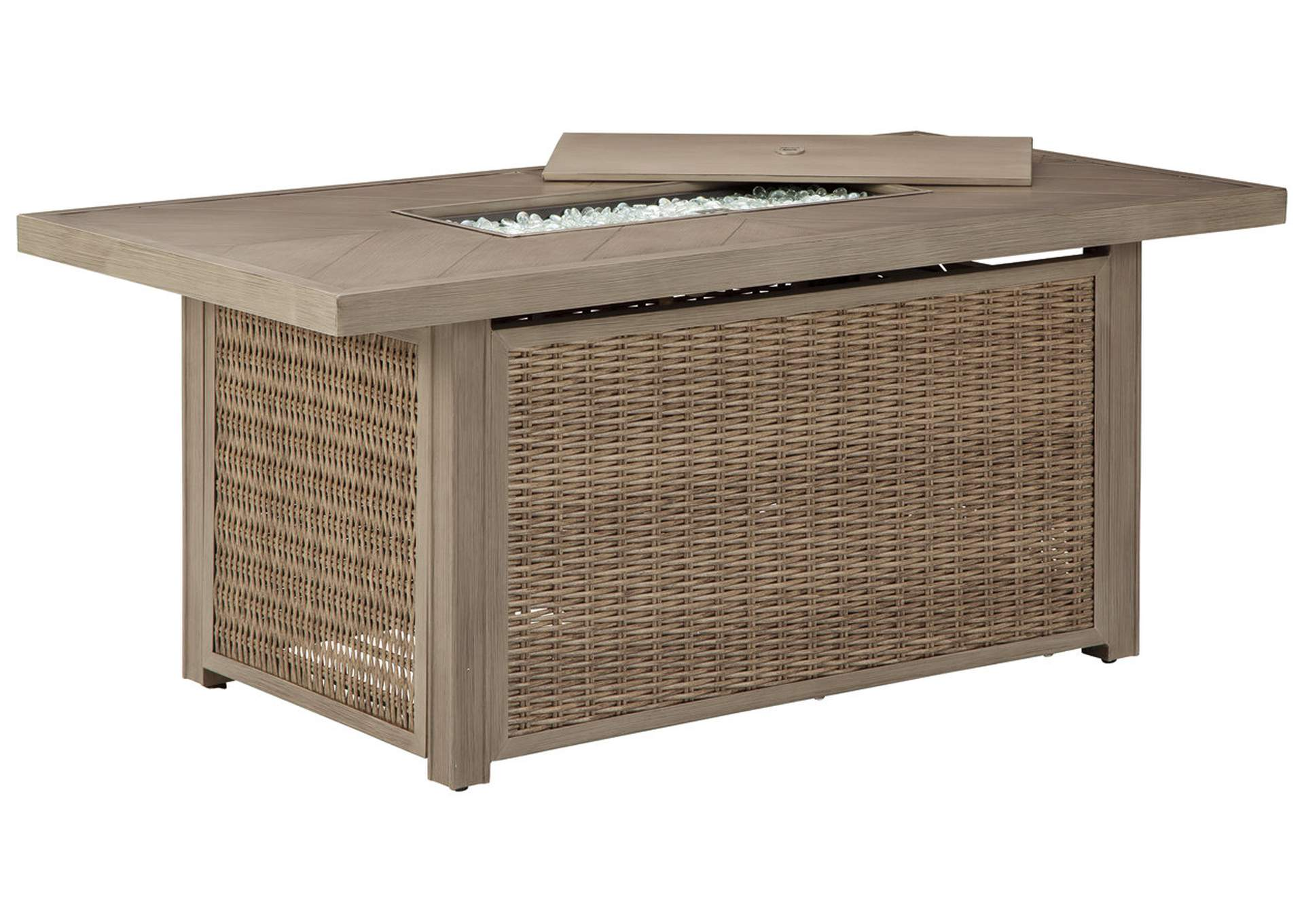 Beachcroft Fire Pit Table,Outdoor By Ashley