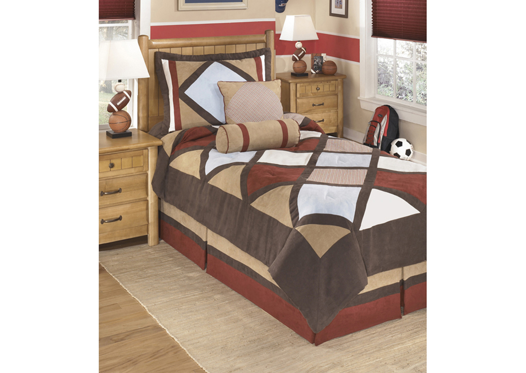 Academy Multi Twin Top of Bed Set,48 Hour Quick Ship