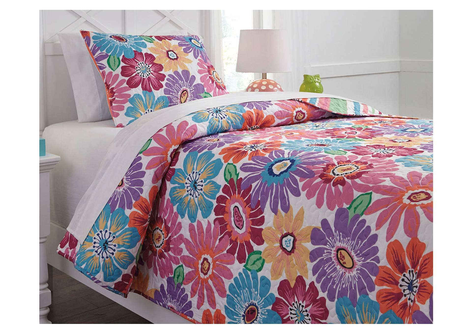 Alexei Multi Twin Quilt Set,Signature Design By Ashley