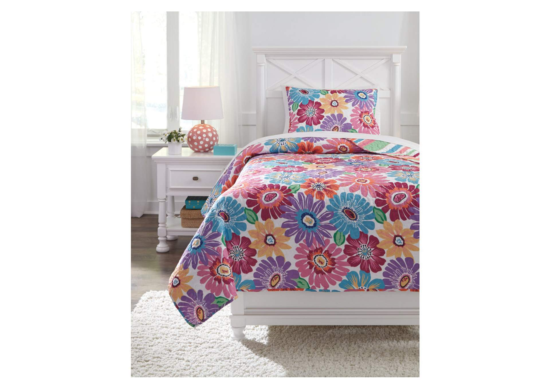 Alexei Multi Full Quilt Set,Signature Design By Ashley