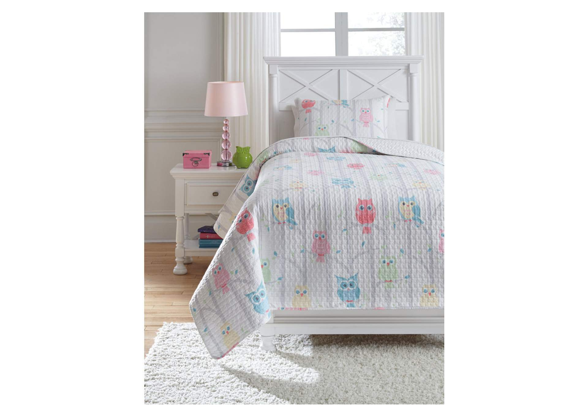 Lucille Multi Twin Coverlet Set,Signature Design By Ashley