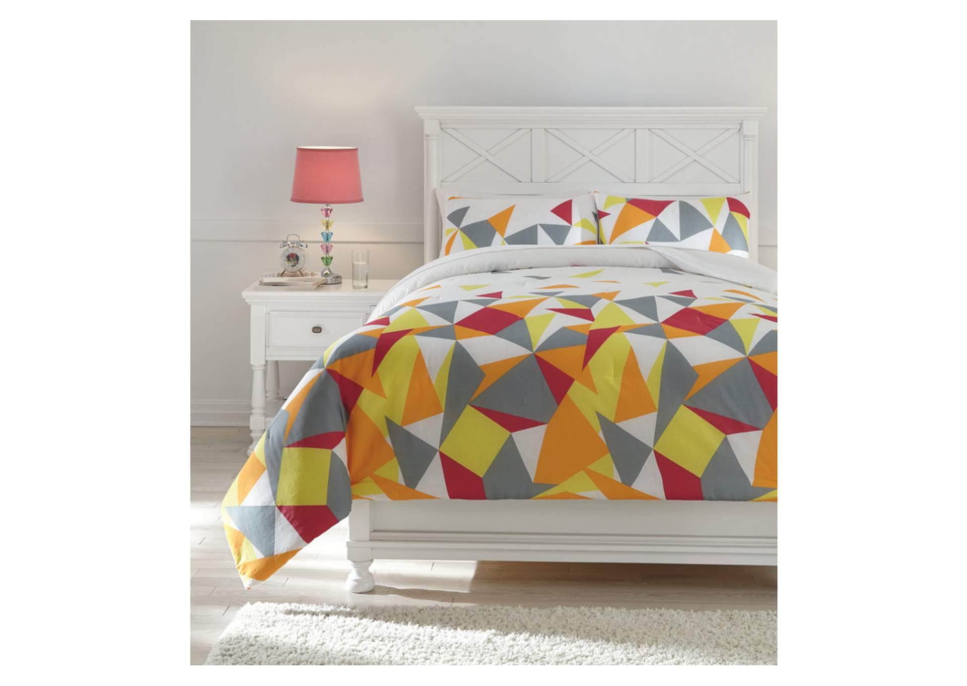 Maxie Multi Full Comforter Set,Signature Design By Ashley